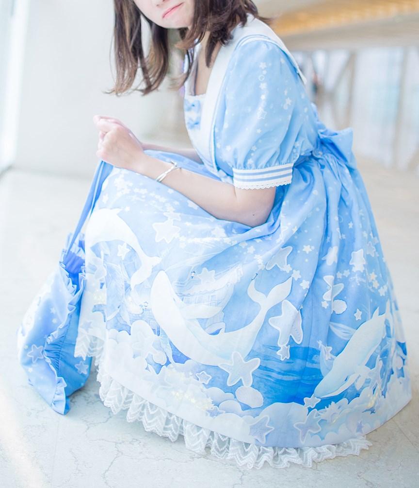 【兔玩映画】蓝色的LO娘 兔玩映画 第21张