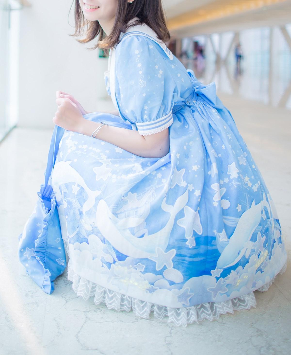 【兔玩映画】蓝色的LO娘 兔玩映画 第20张