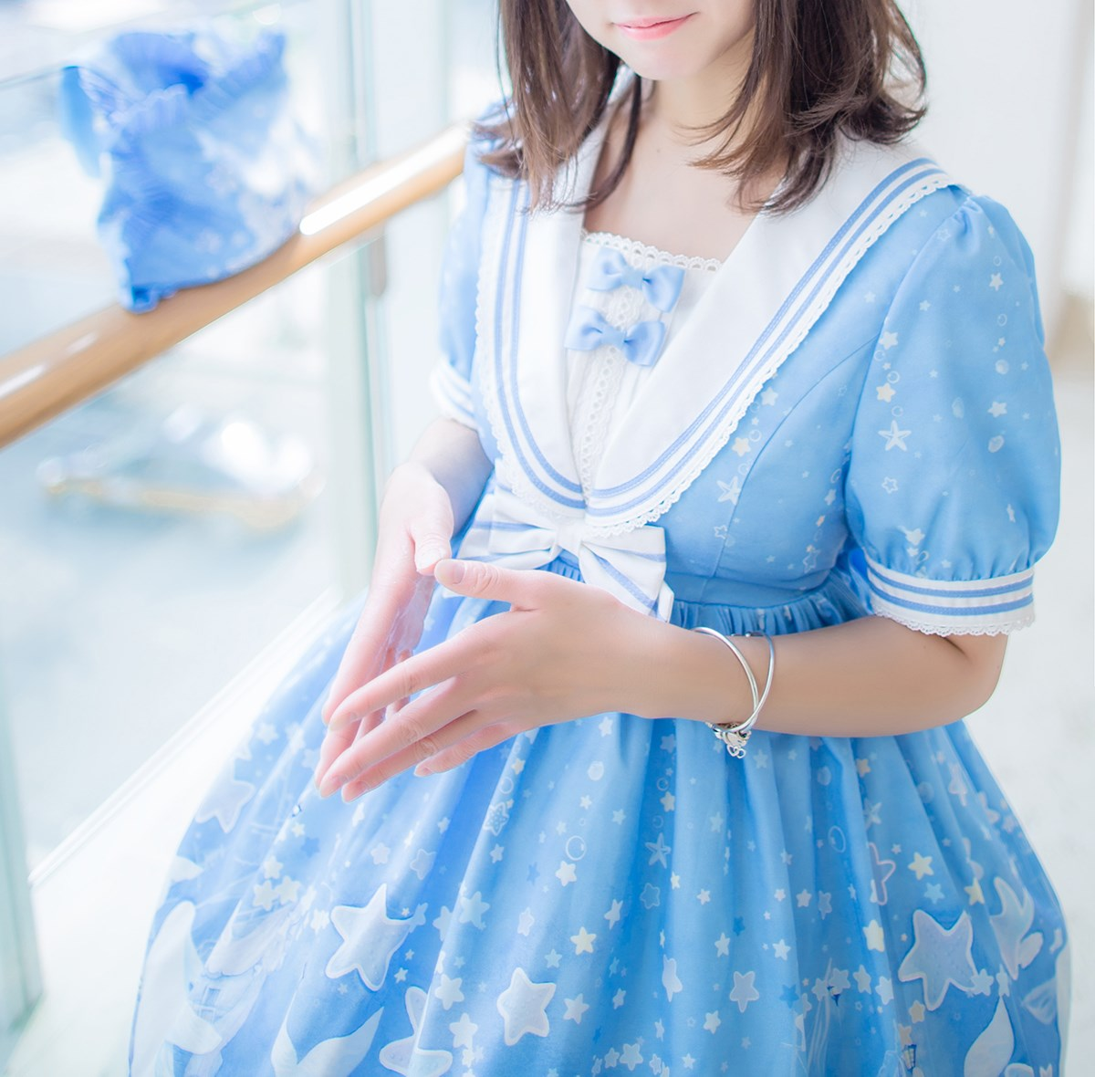【兔玩映画】蓝色的LO娘 兔玩映画 第19张