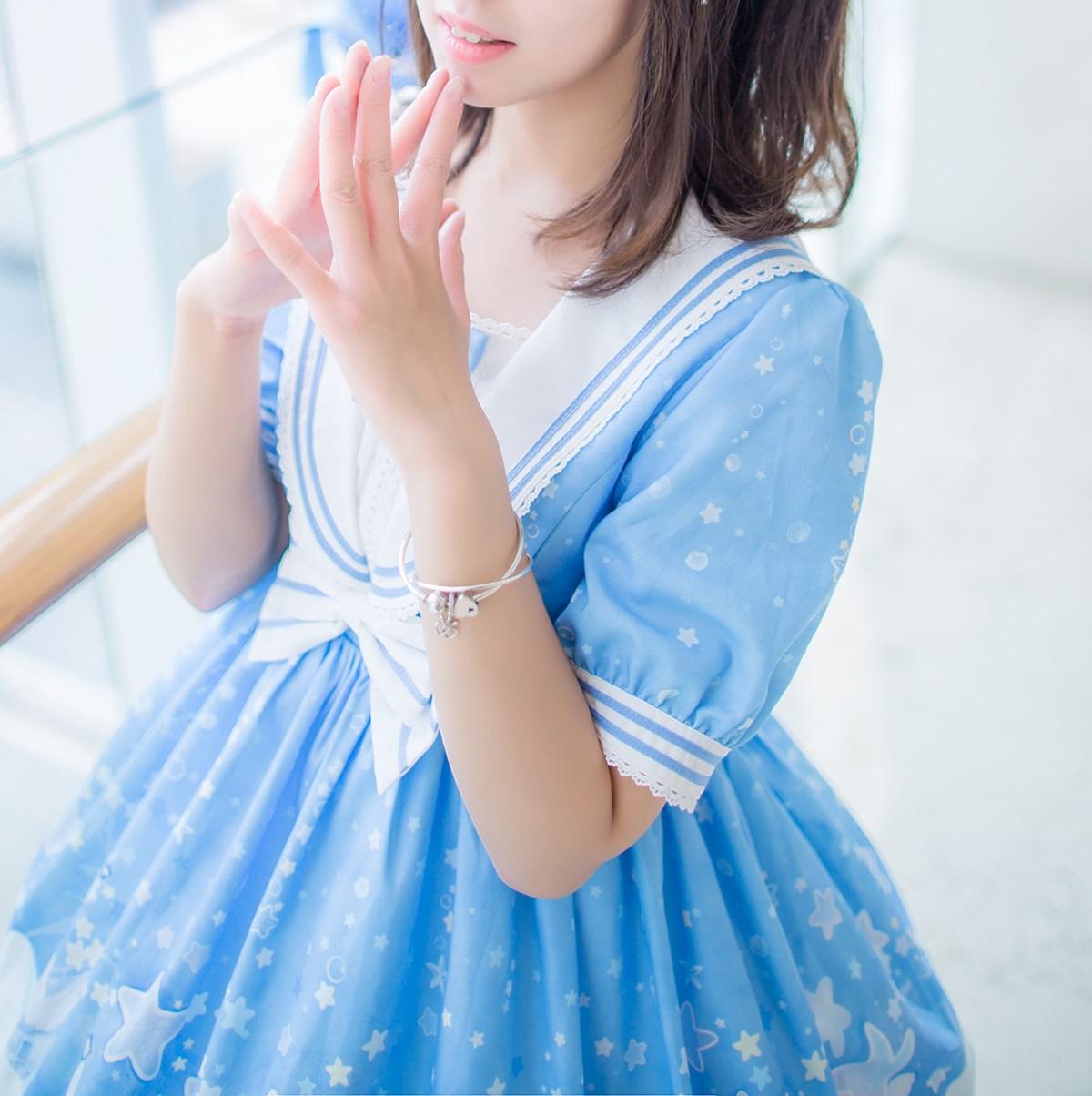 【兔玩映画】蓝色的LO娘 兔玩映画 第18张