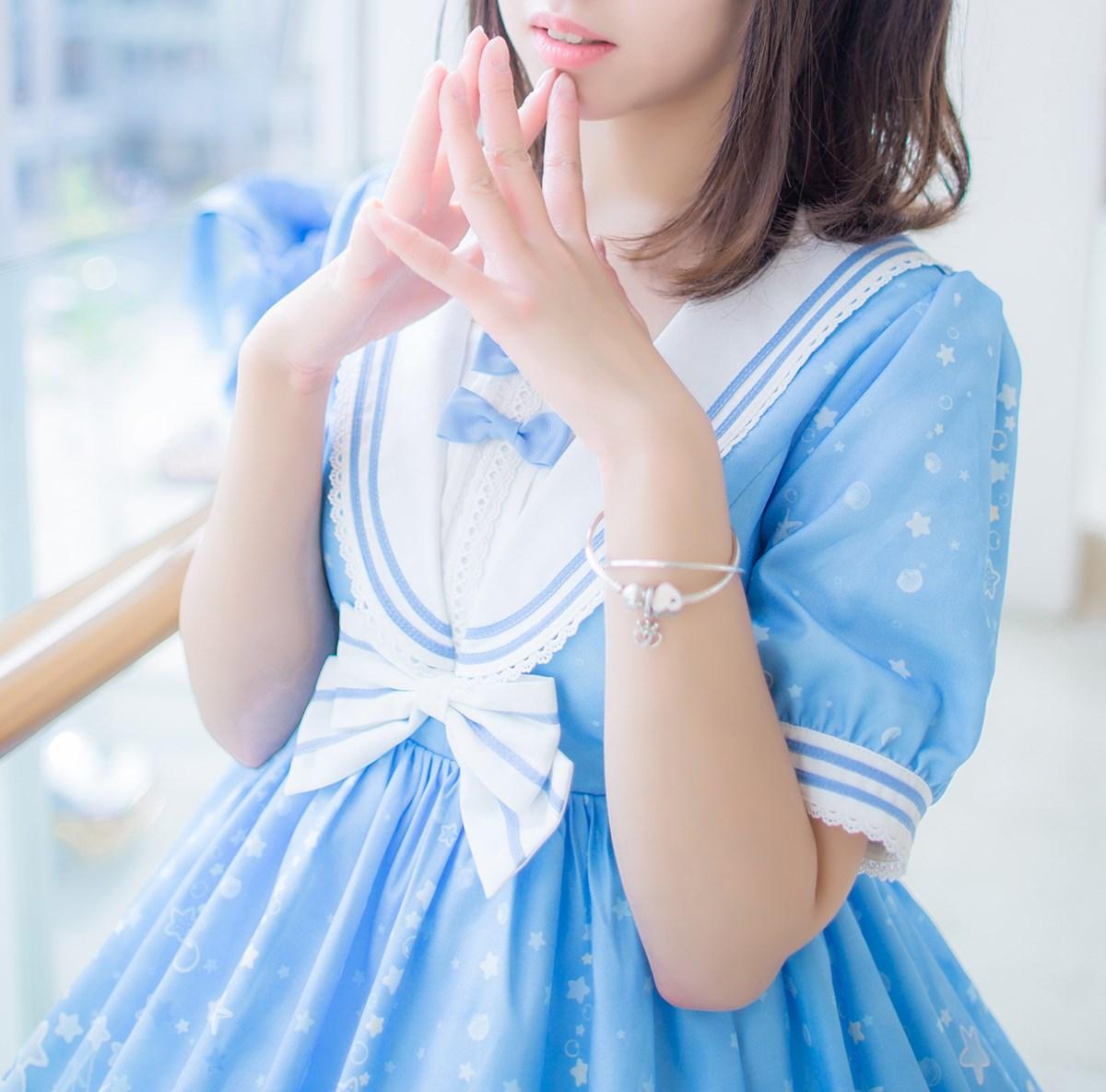 【兔玩映画】蓝色的LO娘 兔玩映画 第17张