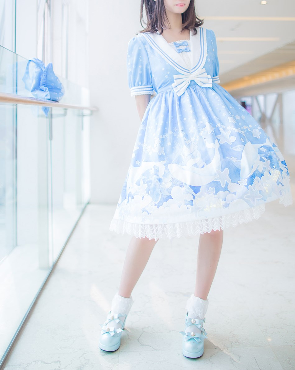 【兔玩映画】蓝色的LO娘 兔玩映画 第16张