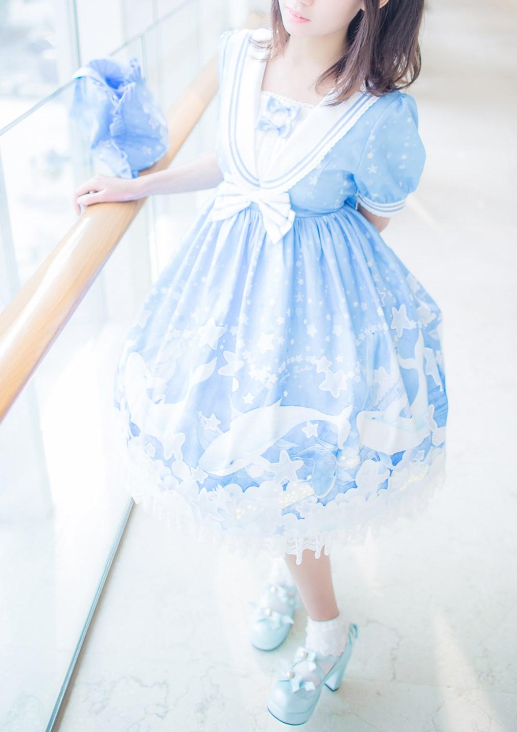 【兔玩映画】蓝色的LO娘 兔玩映画 第15张