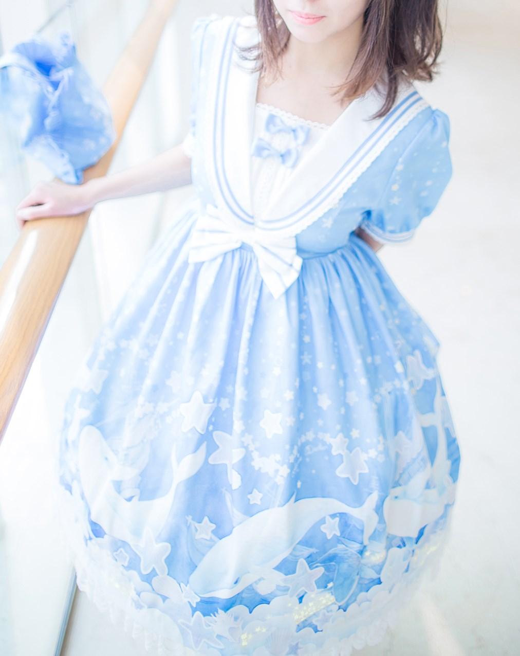 【兔玩映画】蓝色的LO娘 兔玩映画 第14张