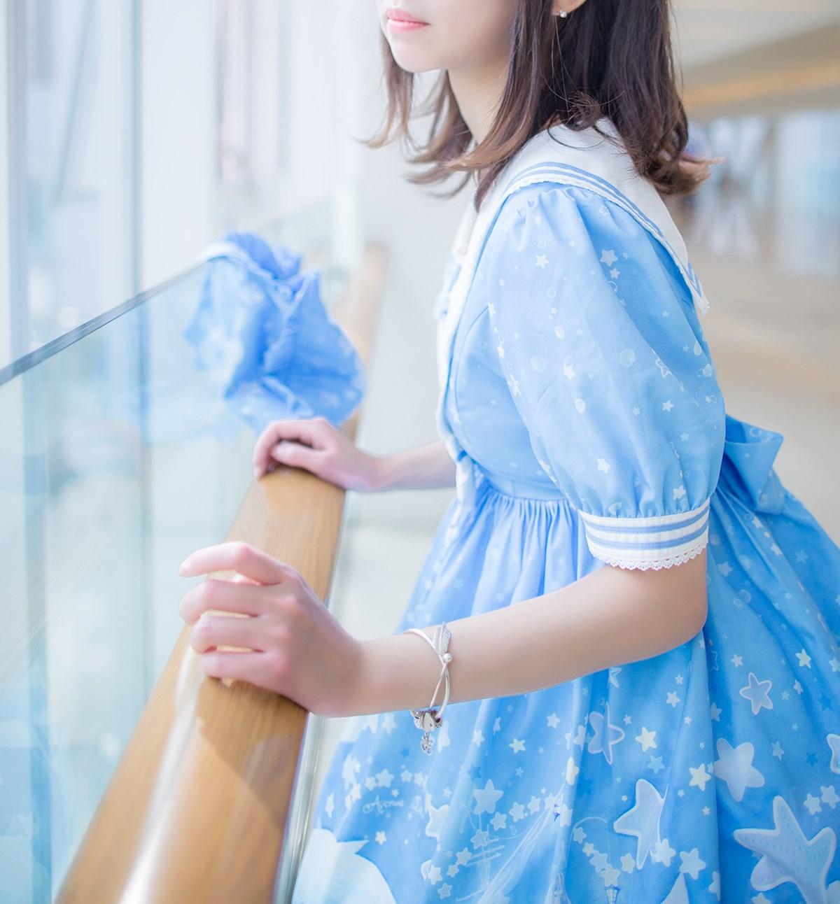【兔玩映画】蓝色的LO娘 兔玩映画 第13张