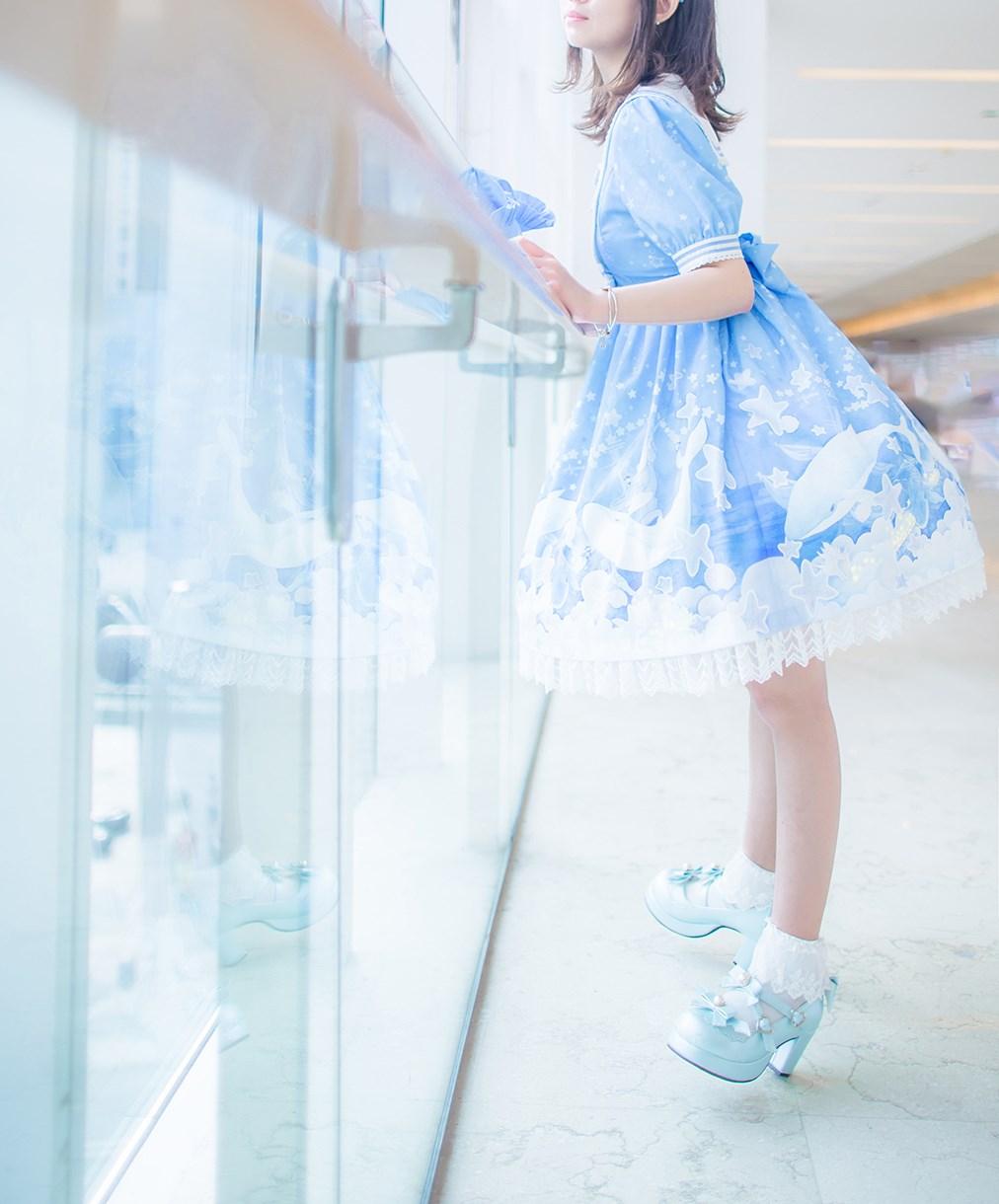 【兔玩映画】蓝色的LO娘 兔玩映画 第12张