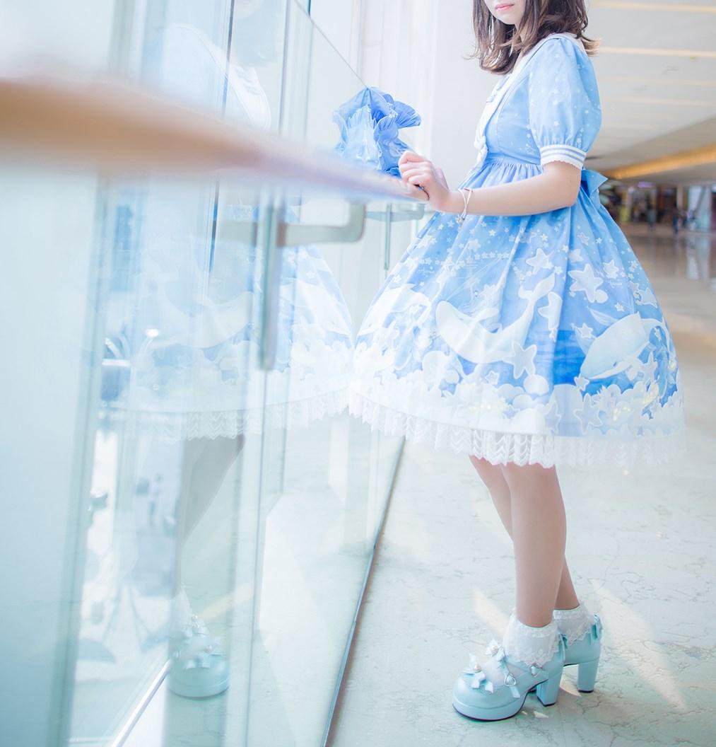 【兔玩映画】蓝色的LO娘 兔玩映画 第11张