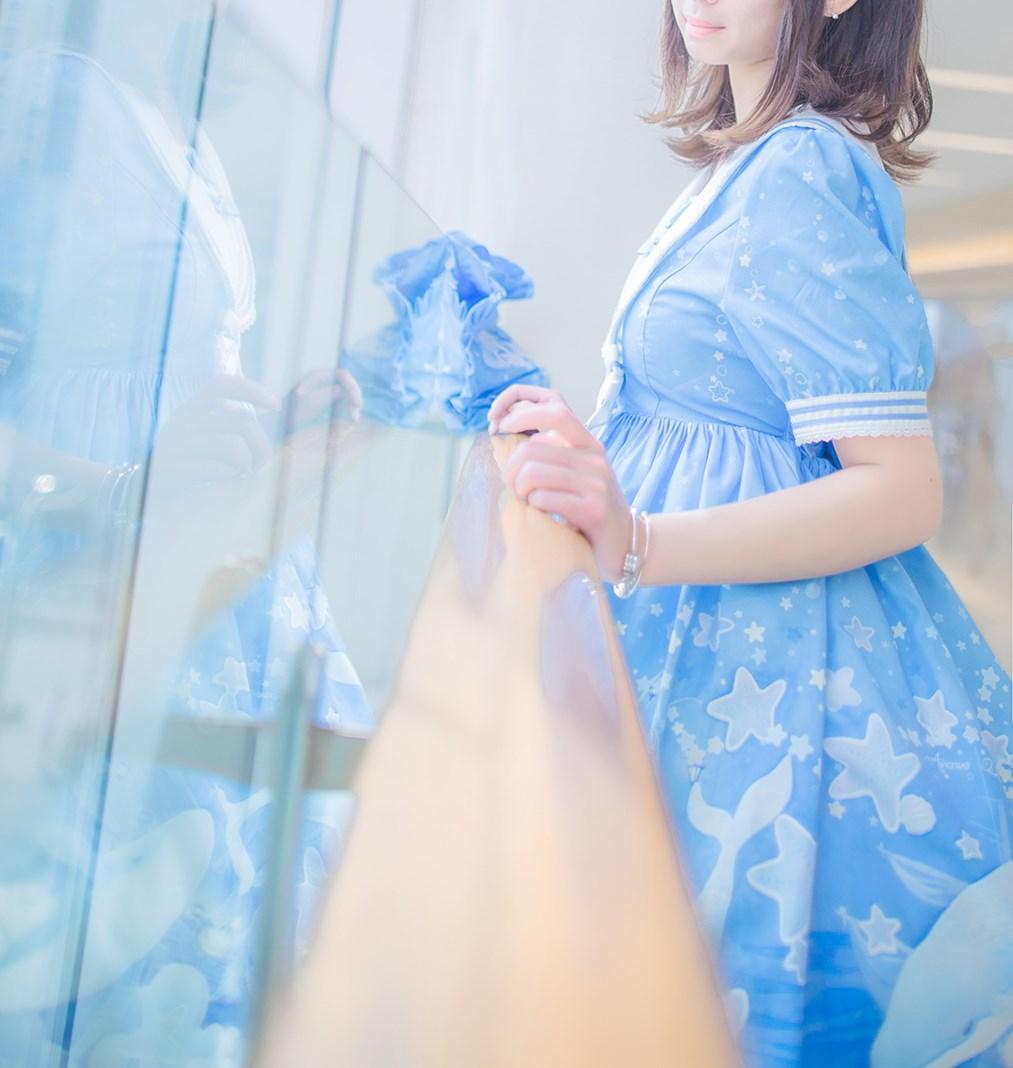 【兔玩映画】蓝色的LO娘 兔玩映画 第10张