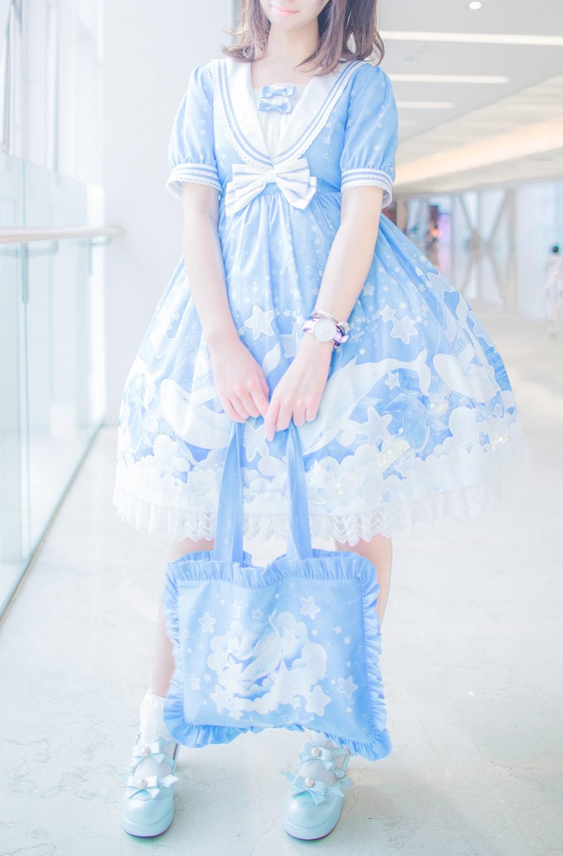 【兔玩映画】蓝色的LO娘 兔玩映画 第9张