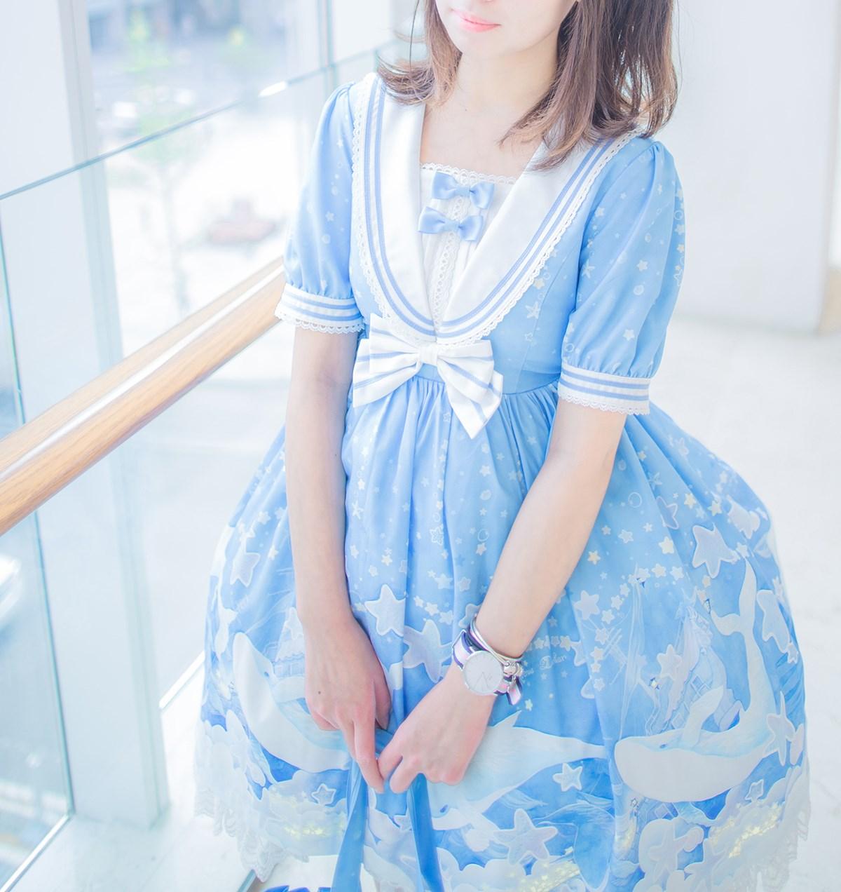 【兔玩映画】蓝色的LO娘 兔玩映画 第8张