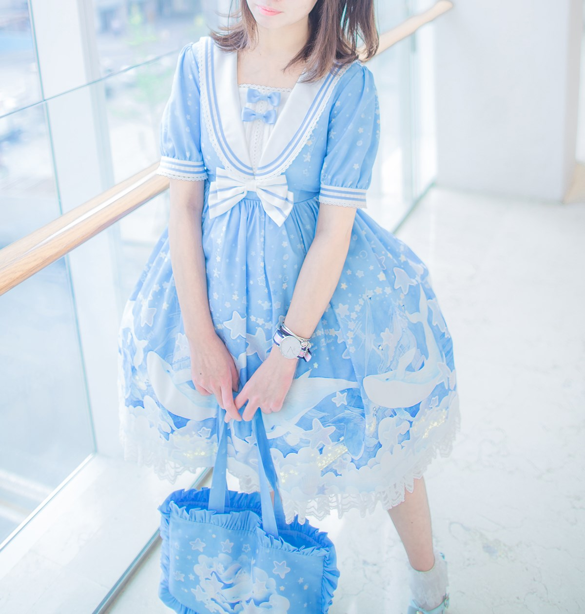 【兔玩映画】蓝色的LO娘 兔玩映画 第7张