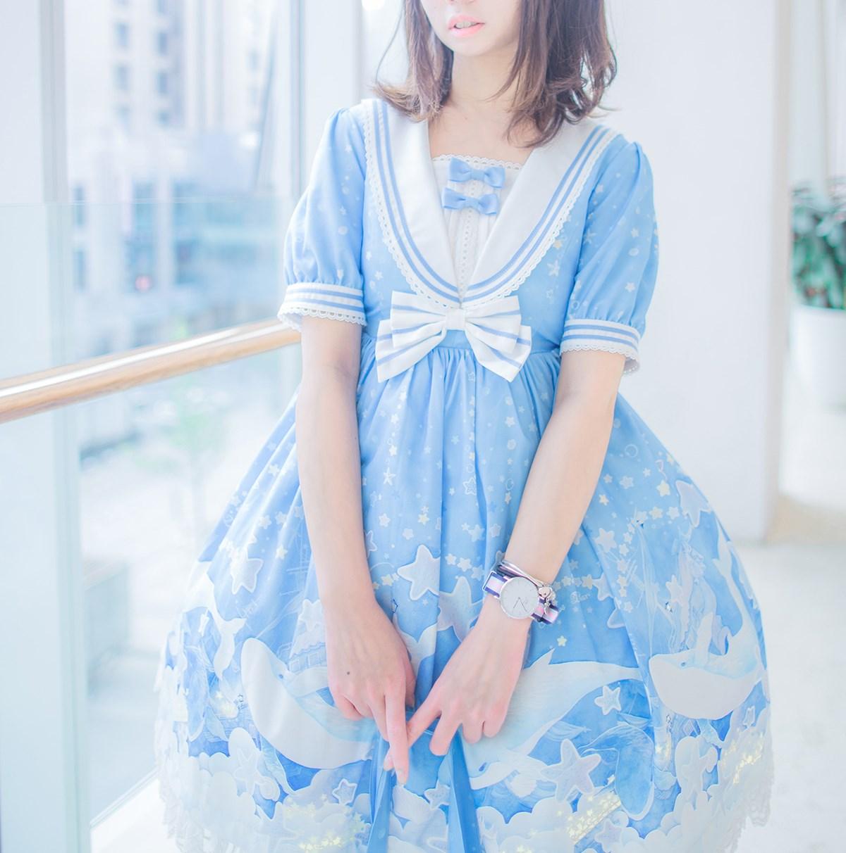 【兔玩映画】蓝色的LO娘 兔玩映画 第6张