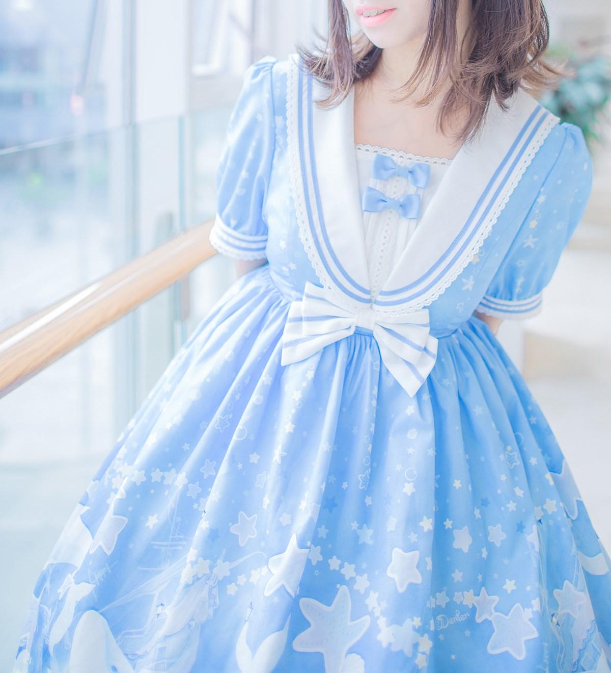 【兔玩映画】蓝色的LO娘 兔玩映画 第5张