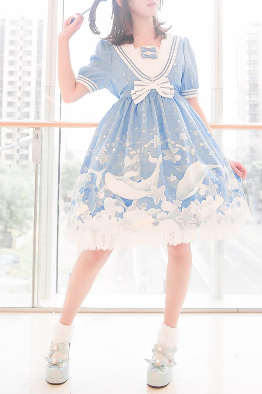 【兔玩映画】蓝色的LO娘 兔玩映画 第3张