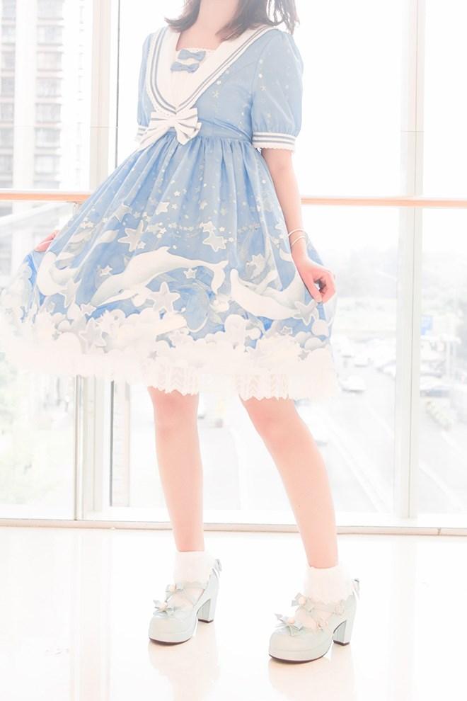【兔玩映画】蓝色的LO娘 兔玩映画 第1张