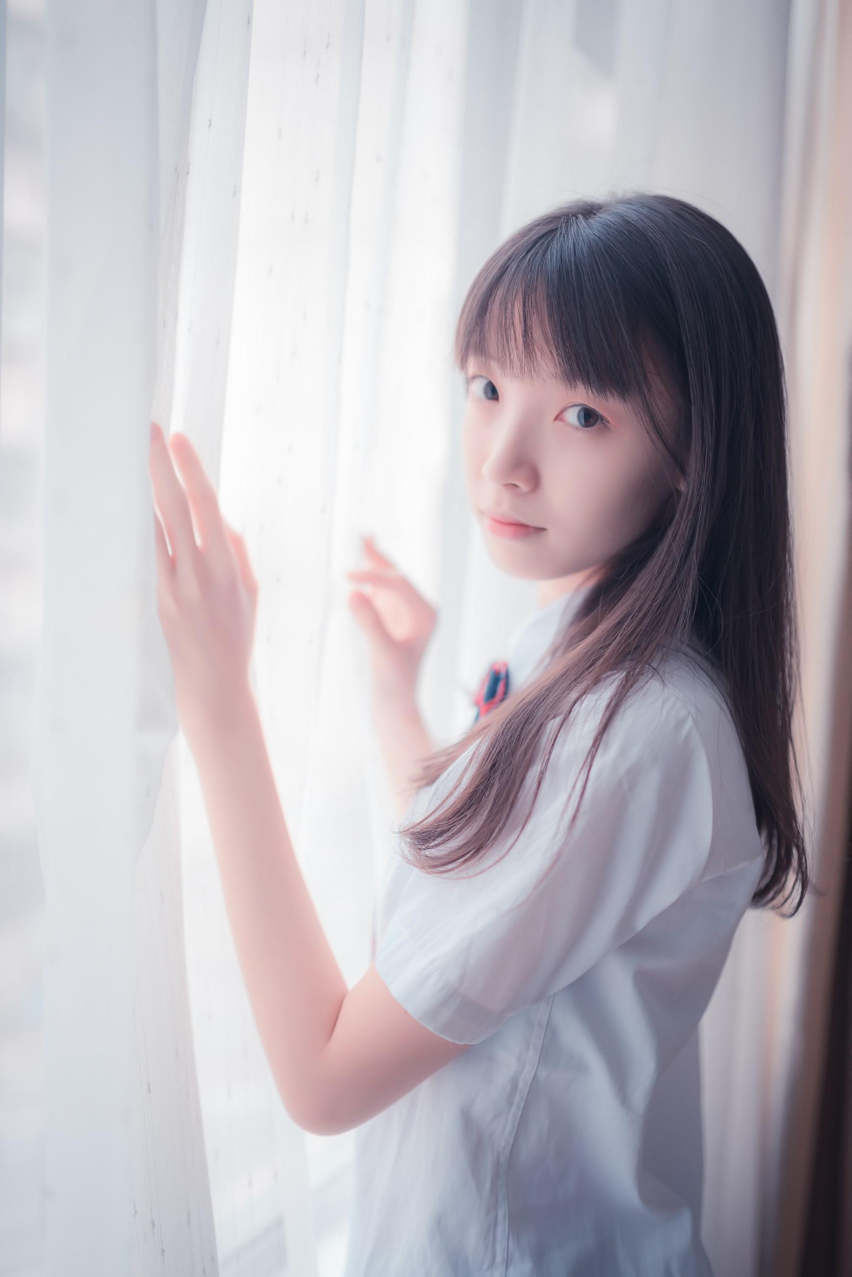 【兔玩映画】白色的JK 兔玩映画 第34张