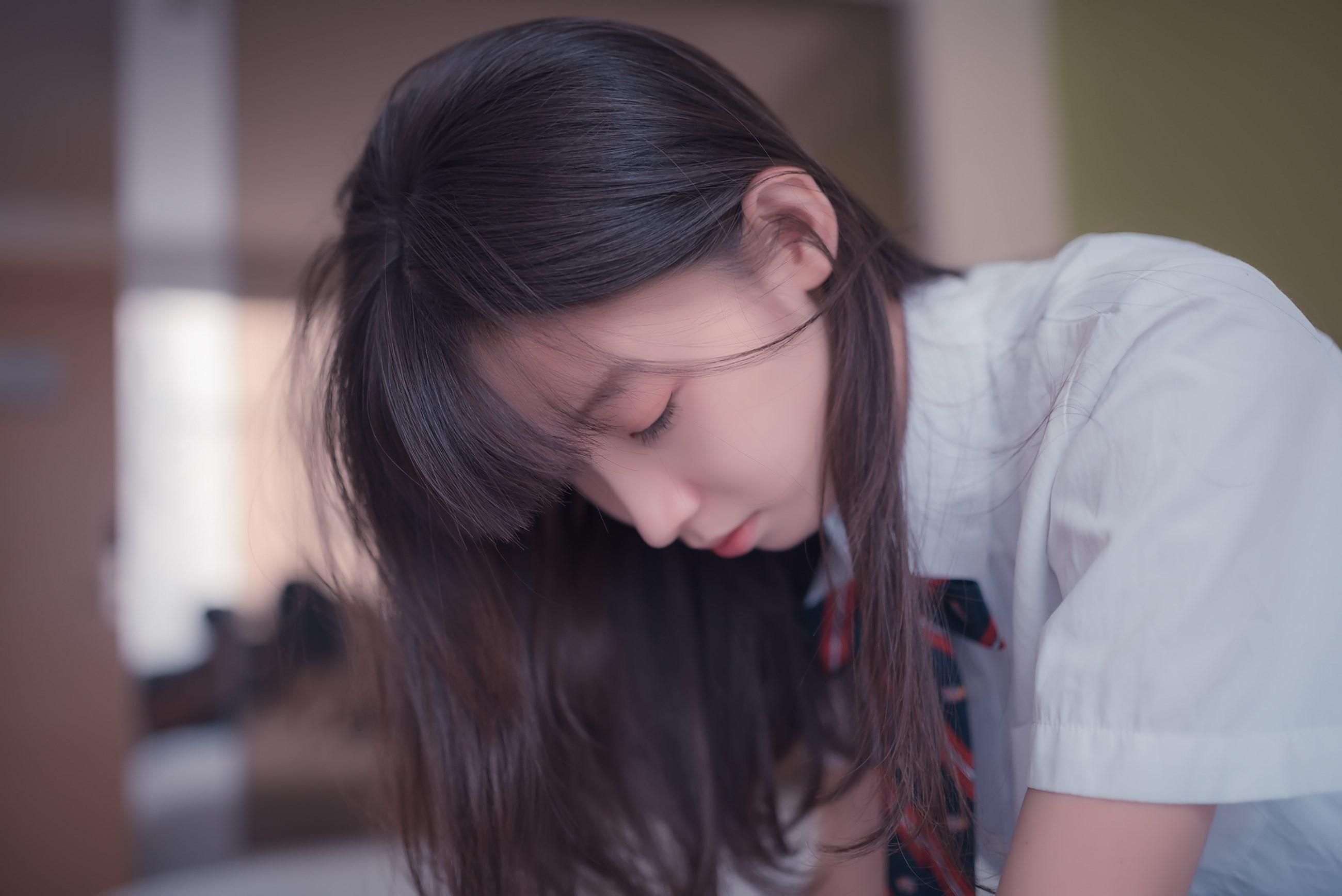 【兔玩映画】白色的JK 兔玩映画 第30张
