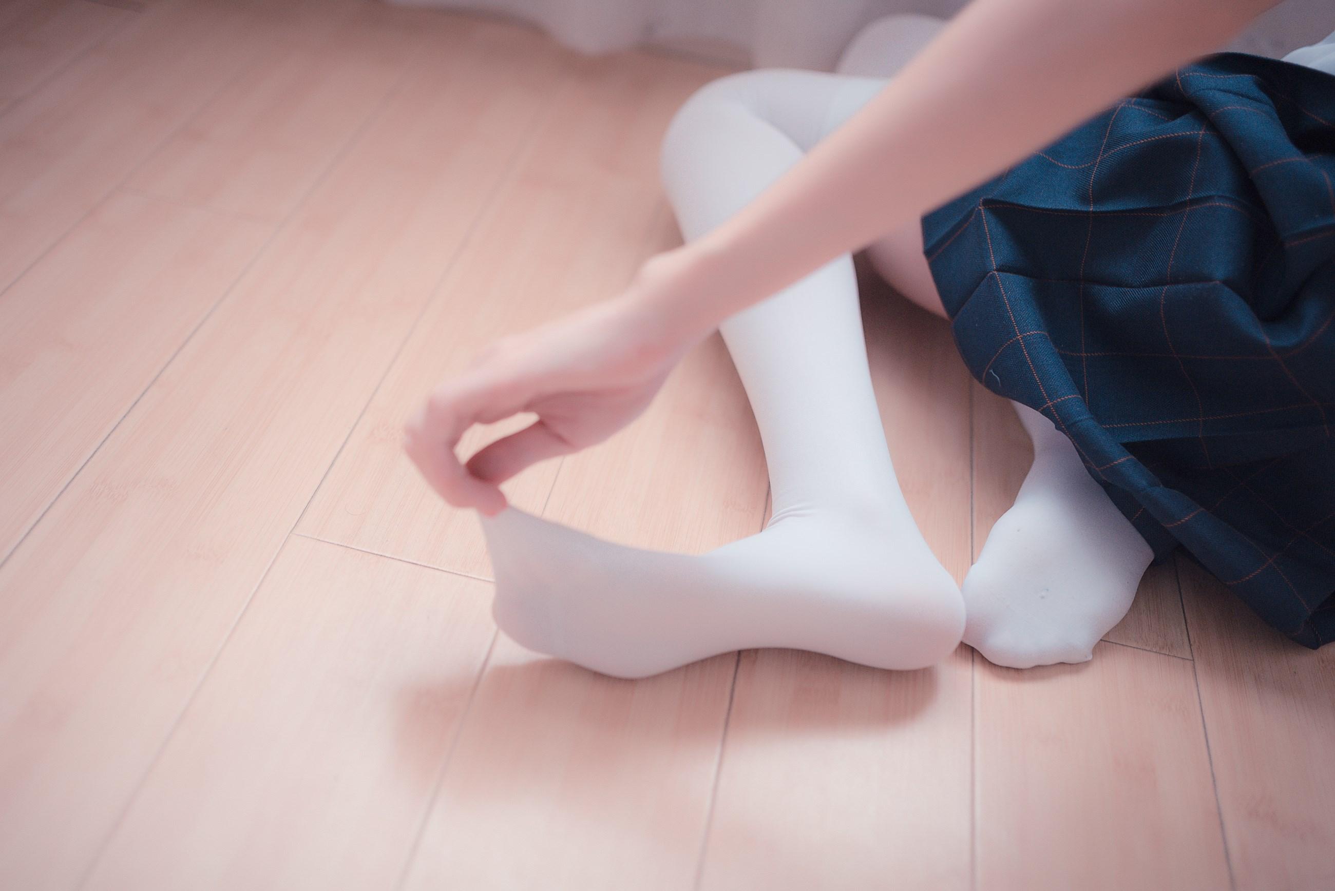 【兔玩映画】白色的JK 兔玩映画 第14张