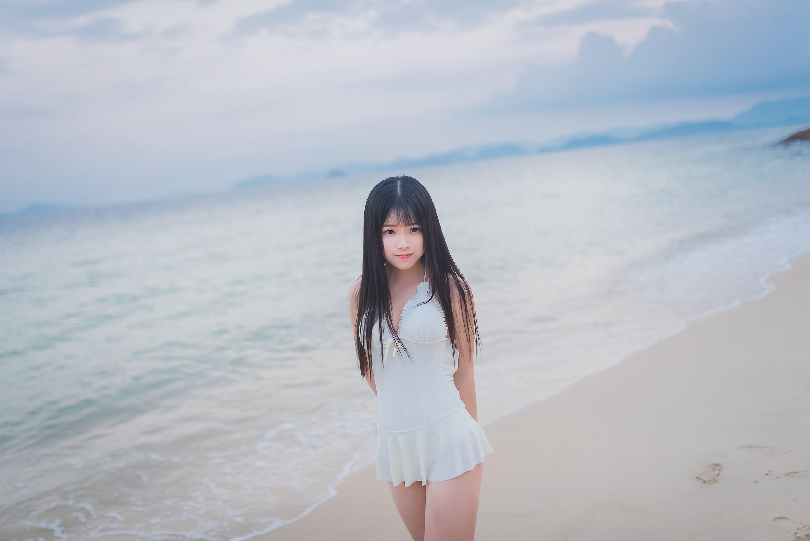 【兔玩映画】纯白的泳衣 兔玩映画 第24张