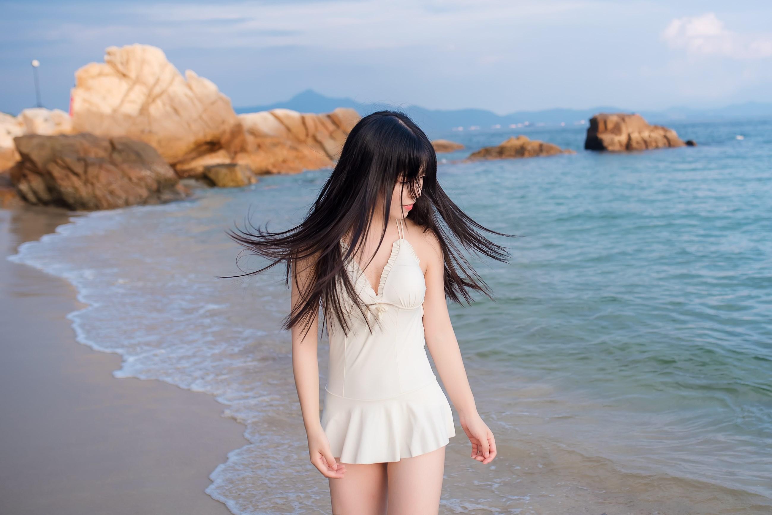 【兔玩映画】纯白的泳衣 兔玩映画 第11张