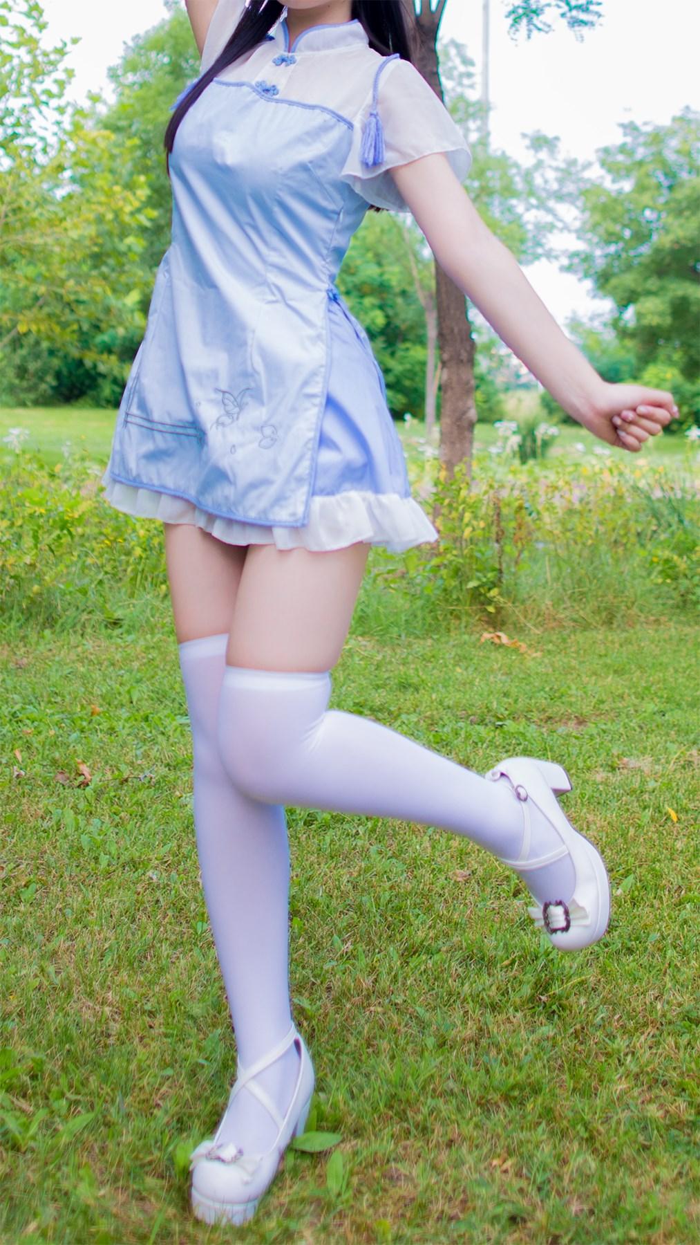 【兔玩映画】白丝旗袍 兔玩映画 第48张