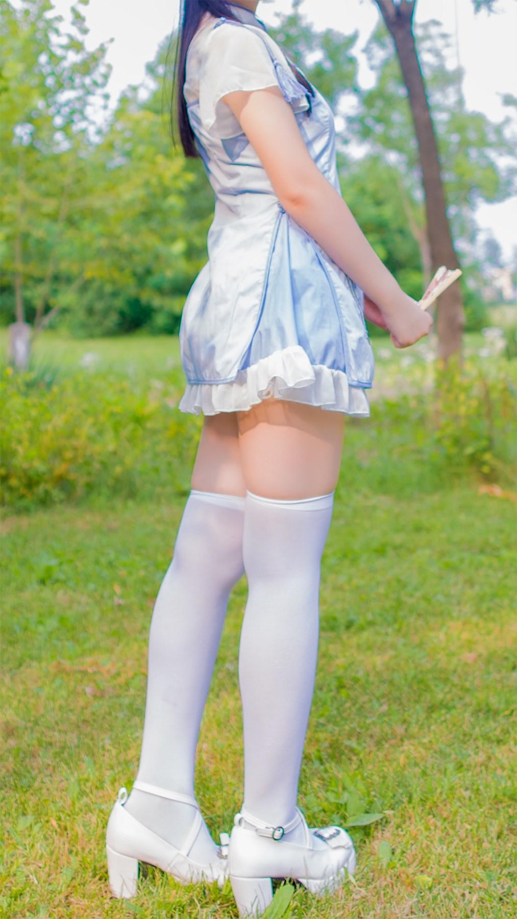 【兔玩映画】白丝旗袍 兔玩映画 第45张