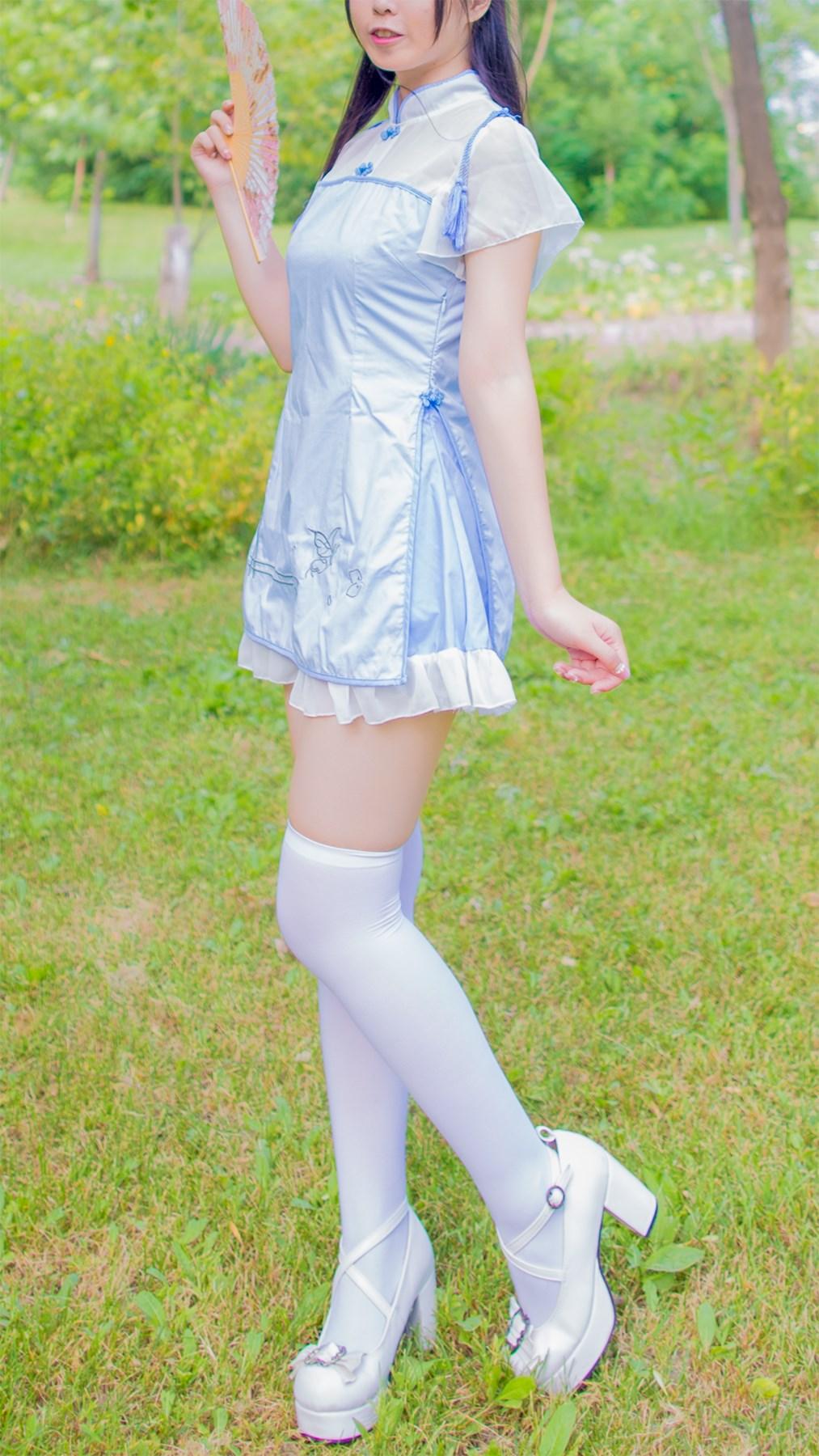 【兔玩映画】白丝旗袍 兔玩映画 第42张