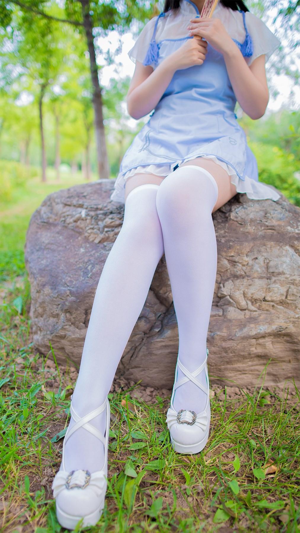 【兔玩映画】白丝旗袍 兔玩映画 第36张