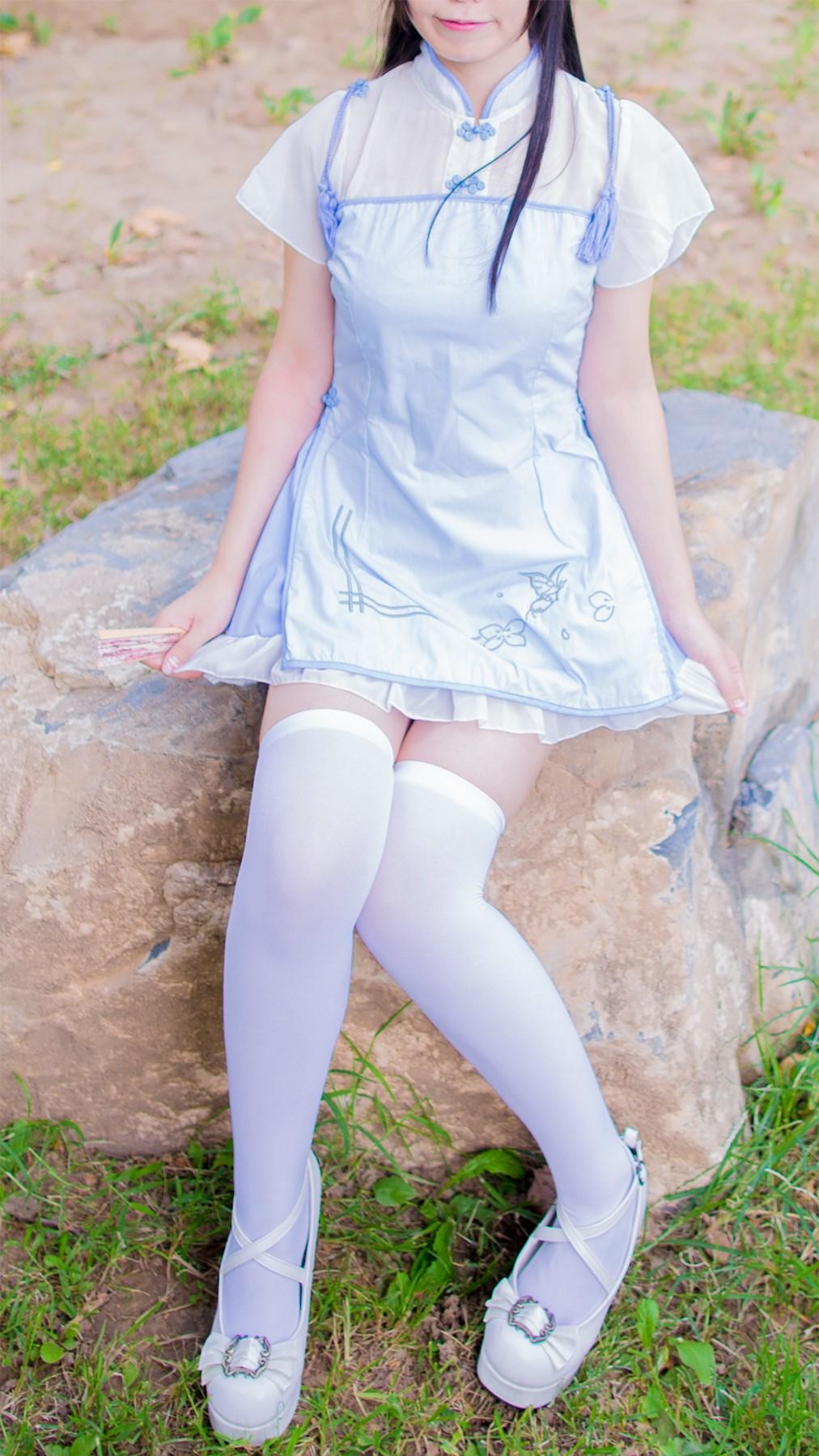 【兔玩映画】白丝旗袍 兔玩映画 第24张