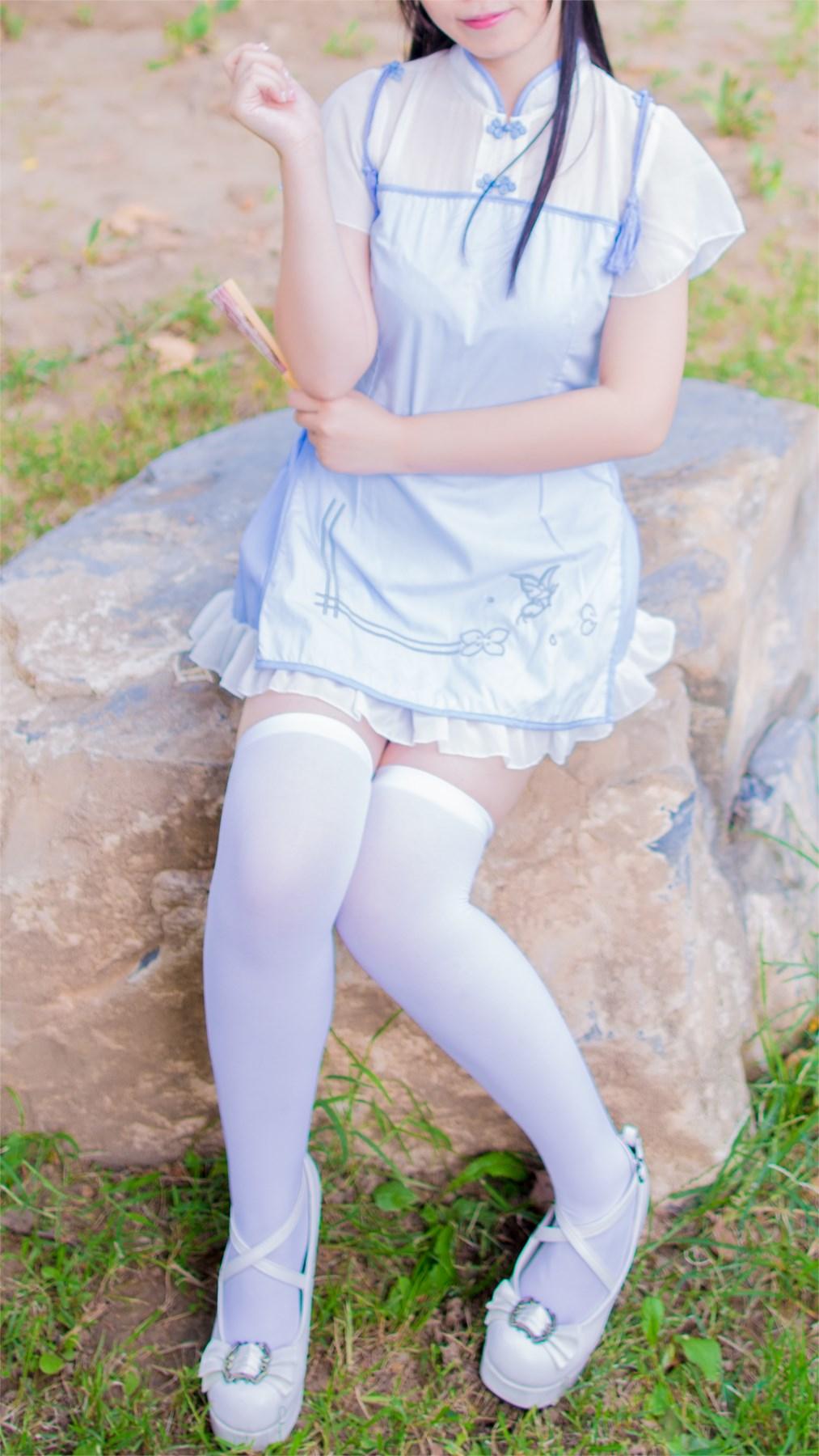 【兔玩映画】白丝旗袍 兔玩映画 第23张