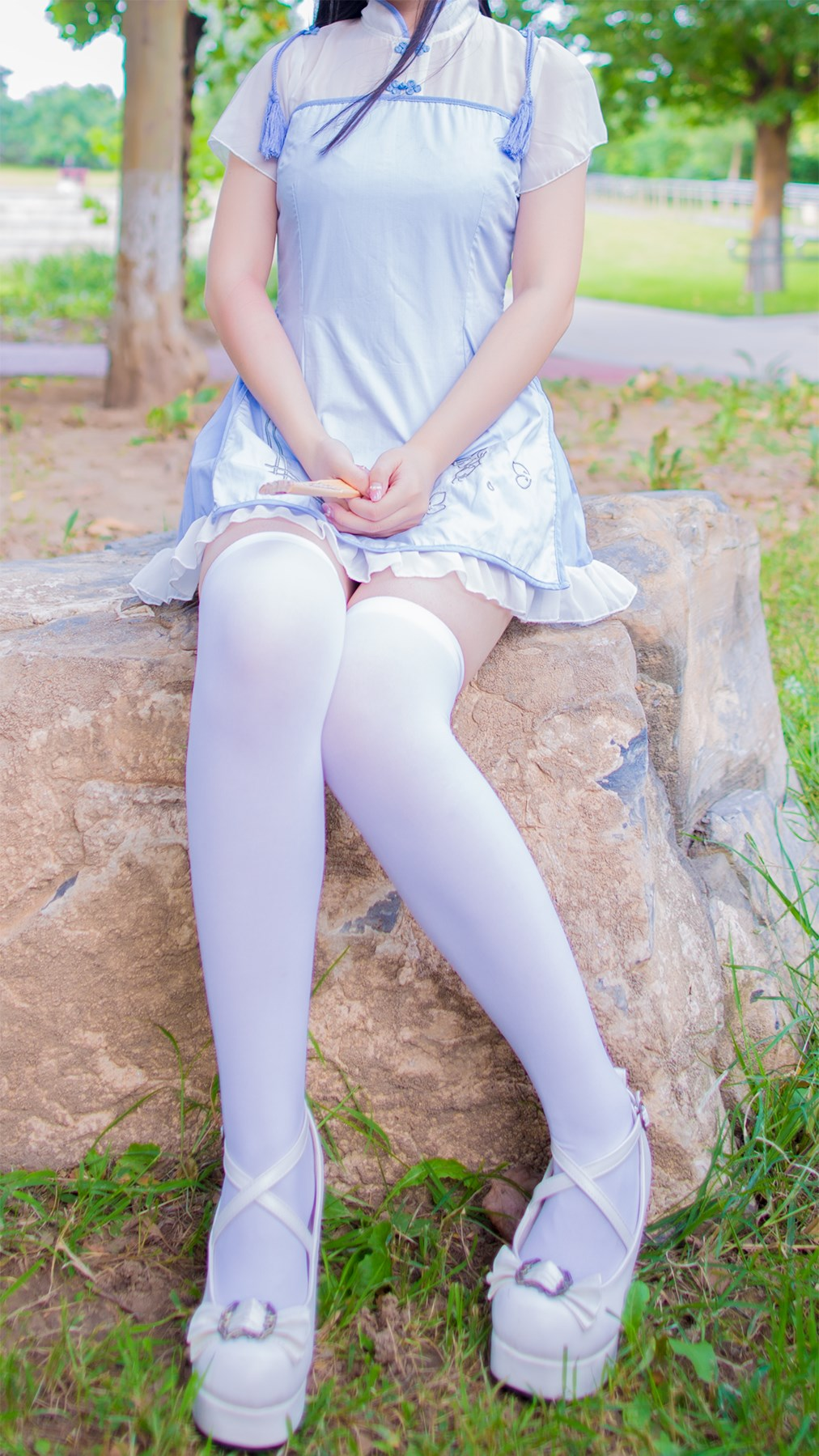 【兔玩映画】白丝旗袍 兔玩映画 第21张