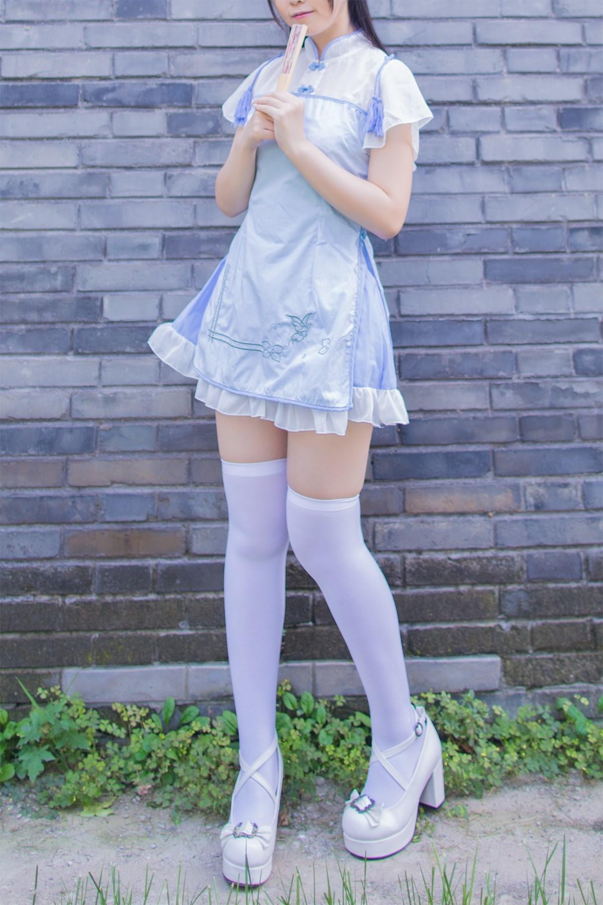 【兔玩映画】白丝旗袍 兔玩映画 第17张
