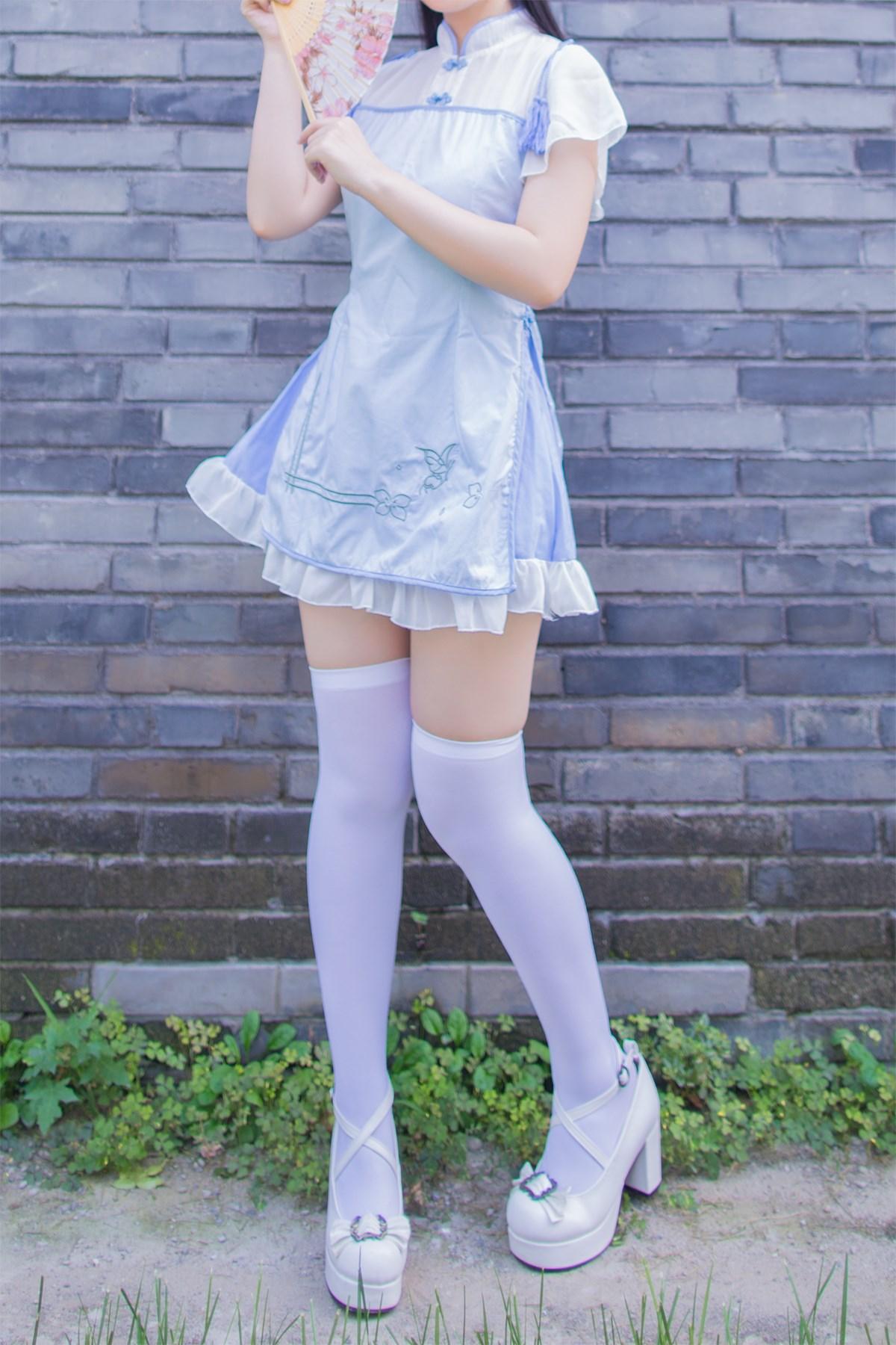 【兔玩映画】白丝旗袍 兔玩映画 第16张