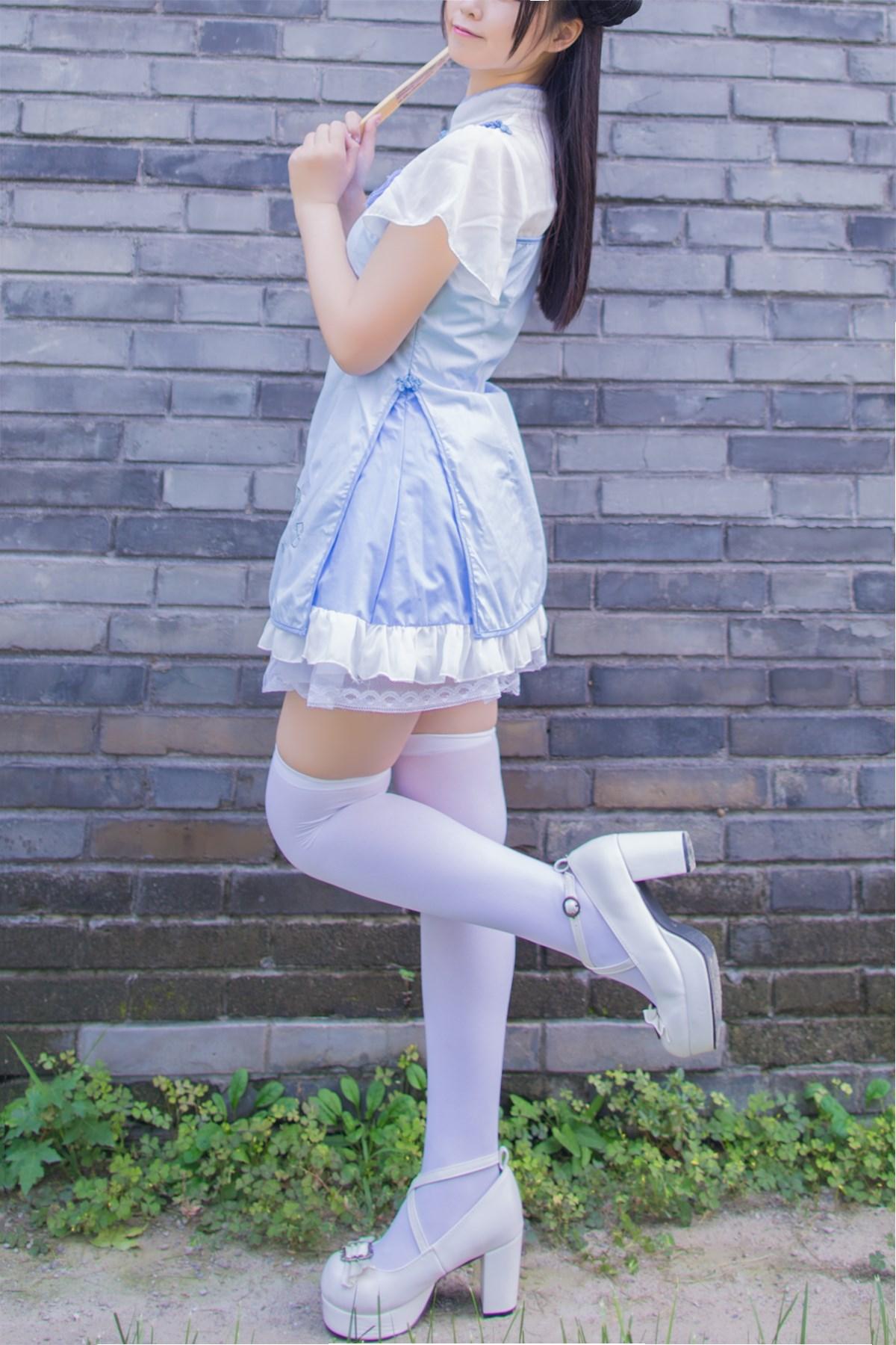 【兔玩映画】白丝旗袍 兔玩映画 第13张