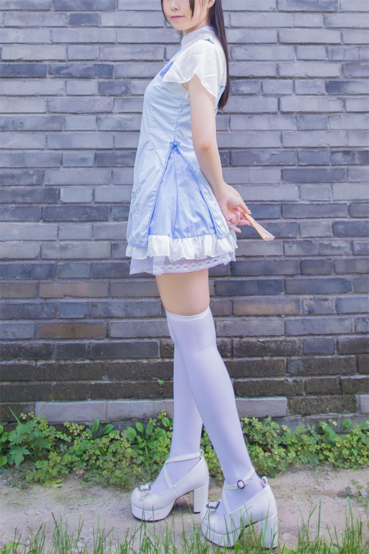 【兔玩映画】白丝旗袍 兔玩映画 第12张