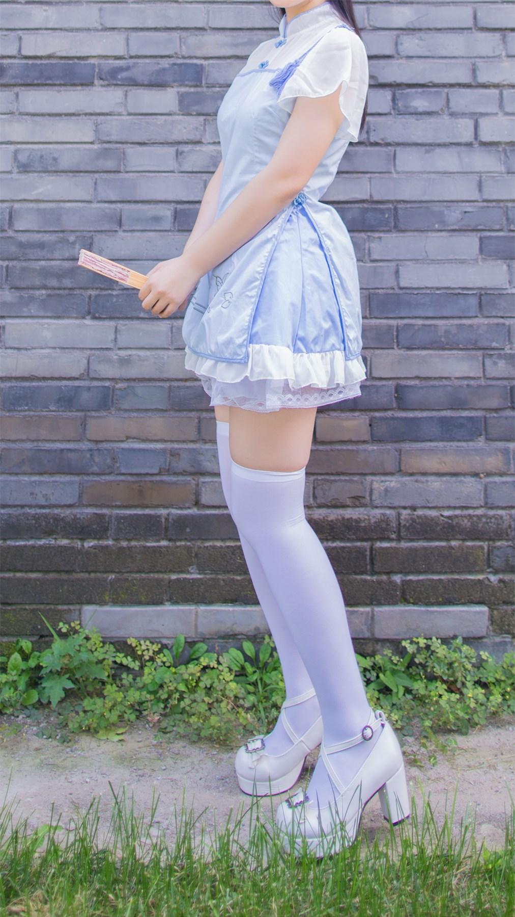 【兔玩映画】白丝旗袍 兔玩映画 第7张