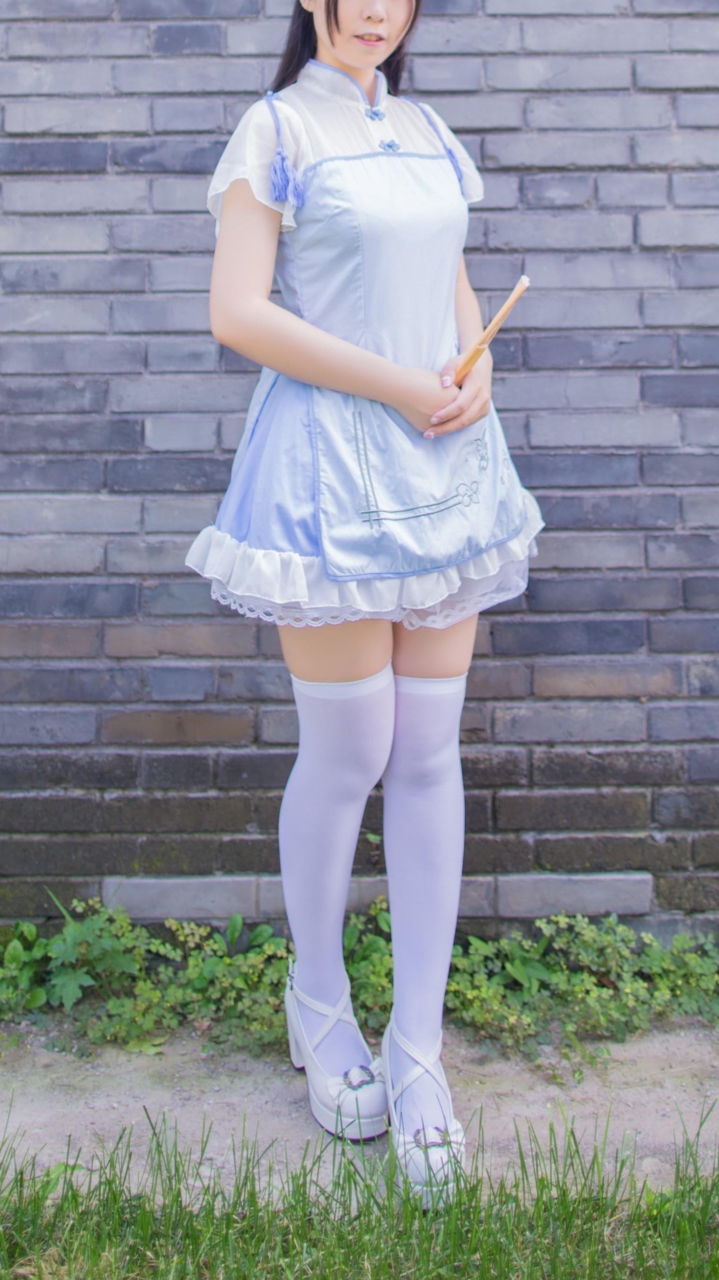 【兔玩映画】白丝旗袍 兔玩映画 第6张