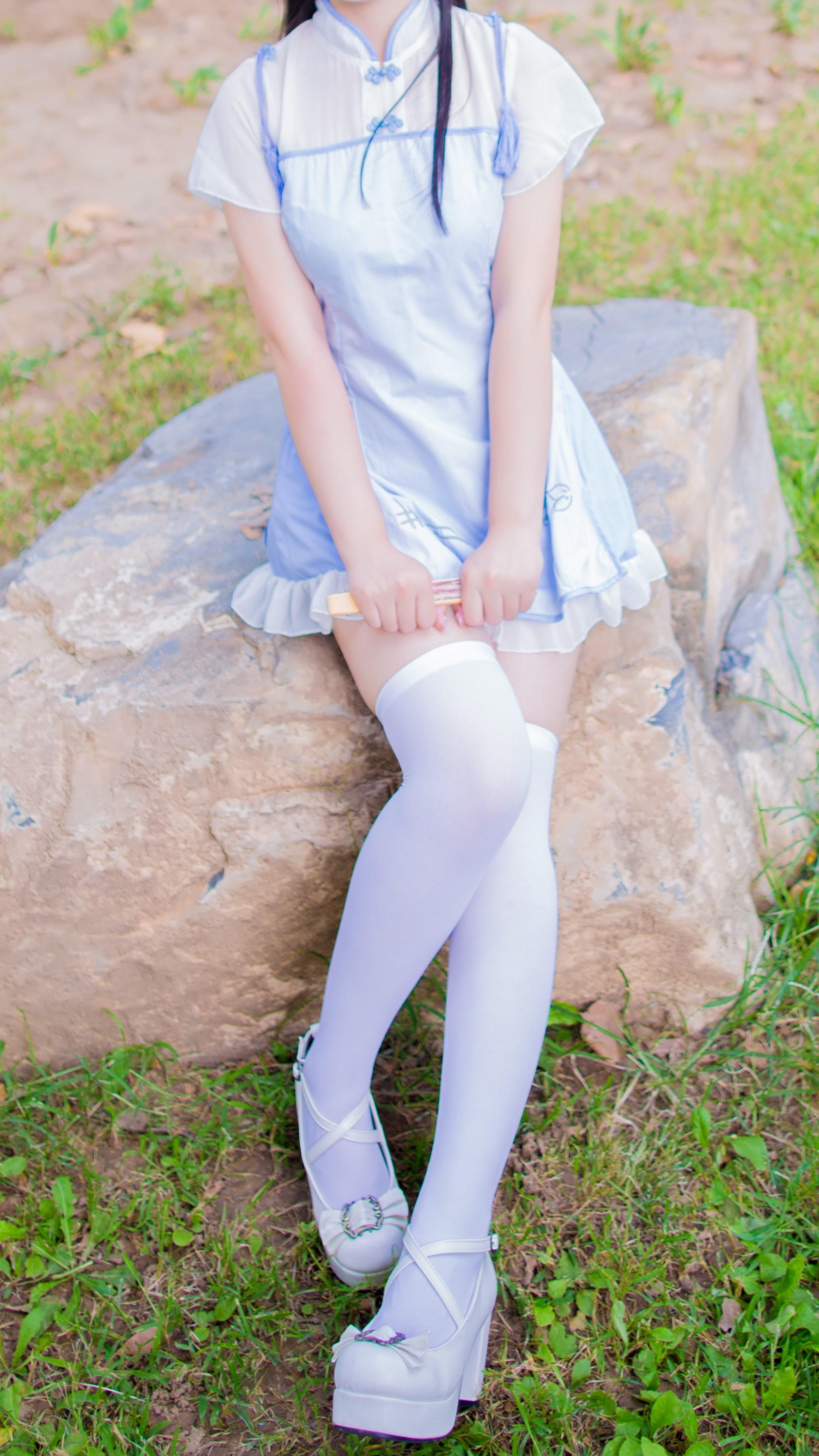【兔玩映画】白丝旗袍 兔玩映画 第5张
