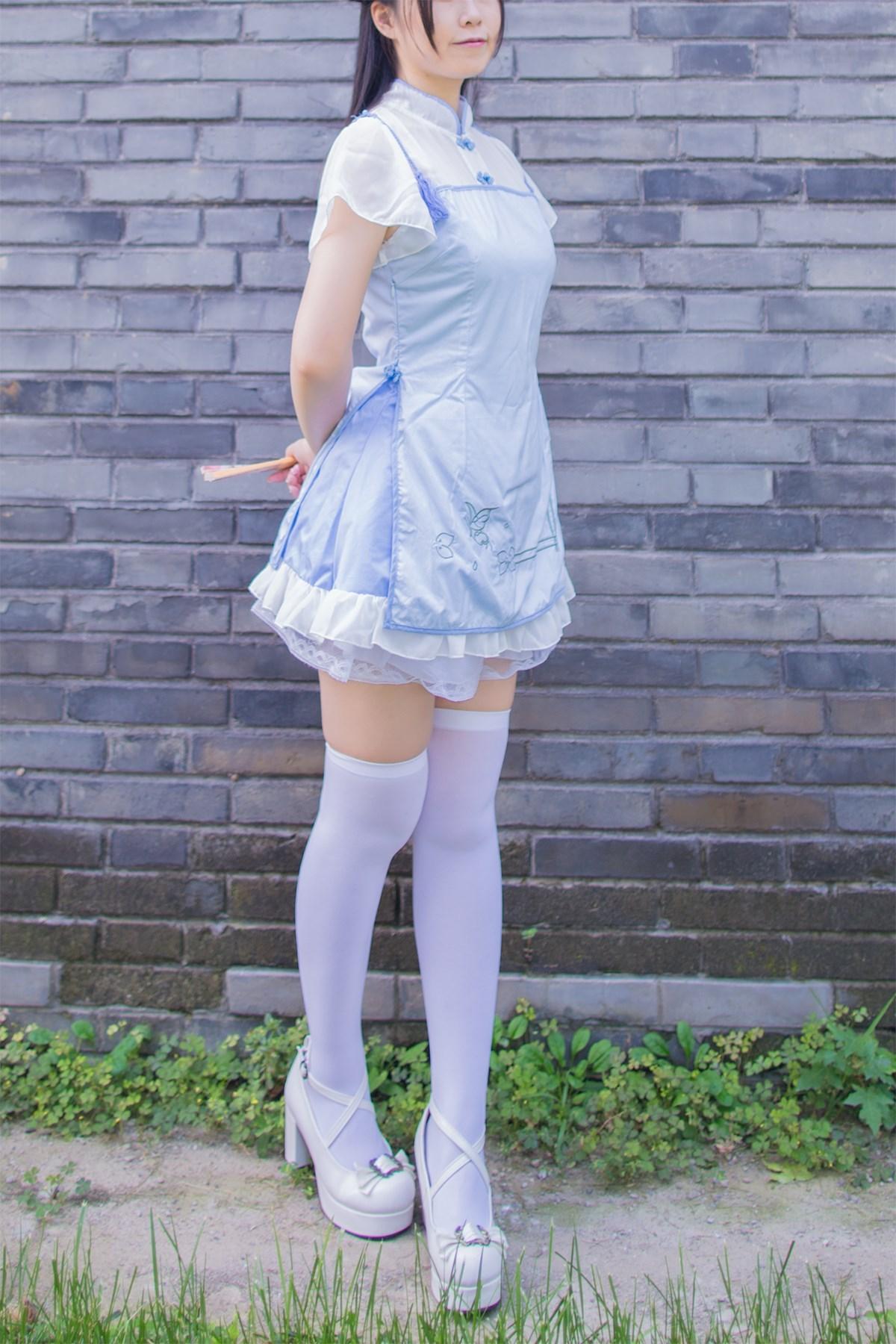 【兔玩映画】白丝旗袍 兔玩映画 第2张