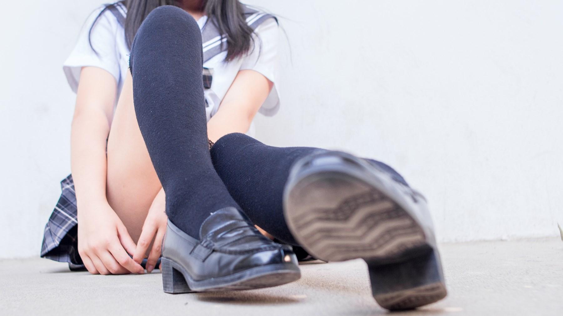 【兔玩映画】过膝袜JK 兔玩映画 第35张
