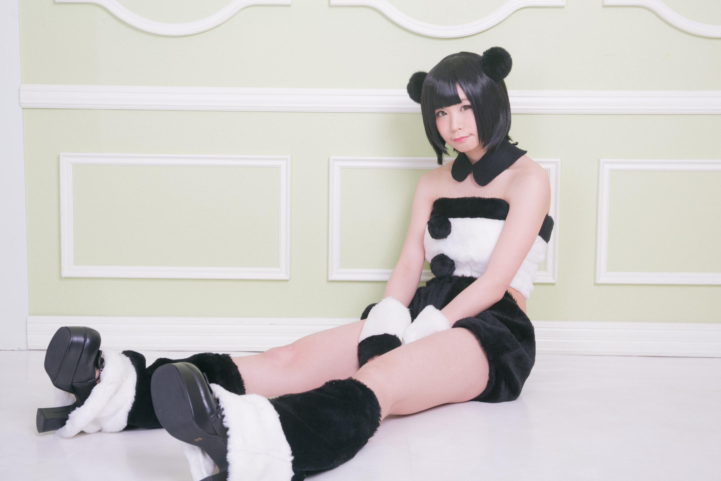 【兔玩映画】熊猫娘 兔玩映画 第40张