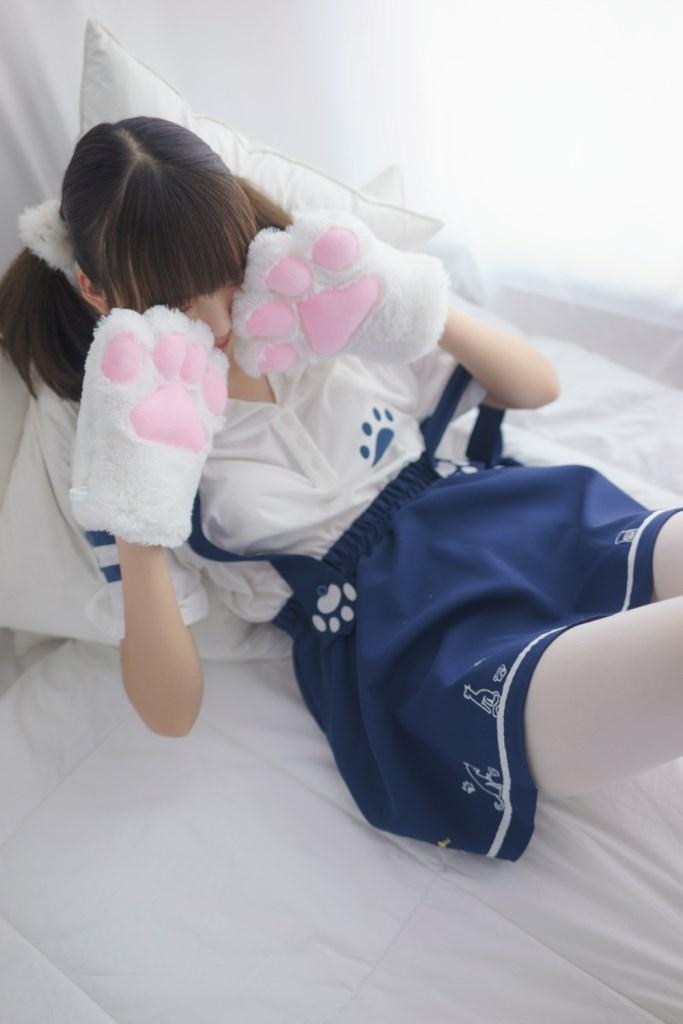 【兔玩映画】白色小萝莉 兔玩映画 第4张