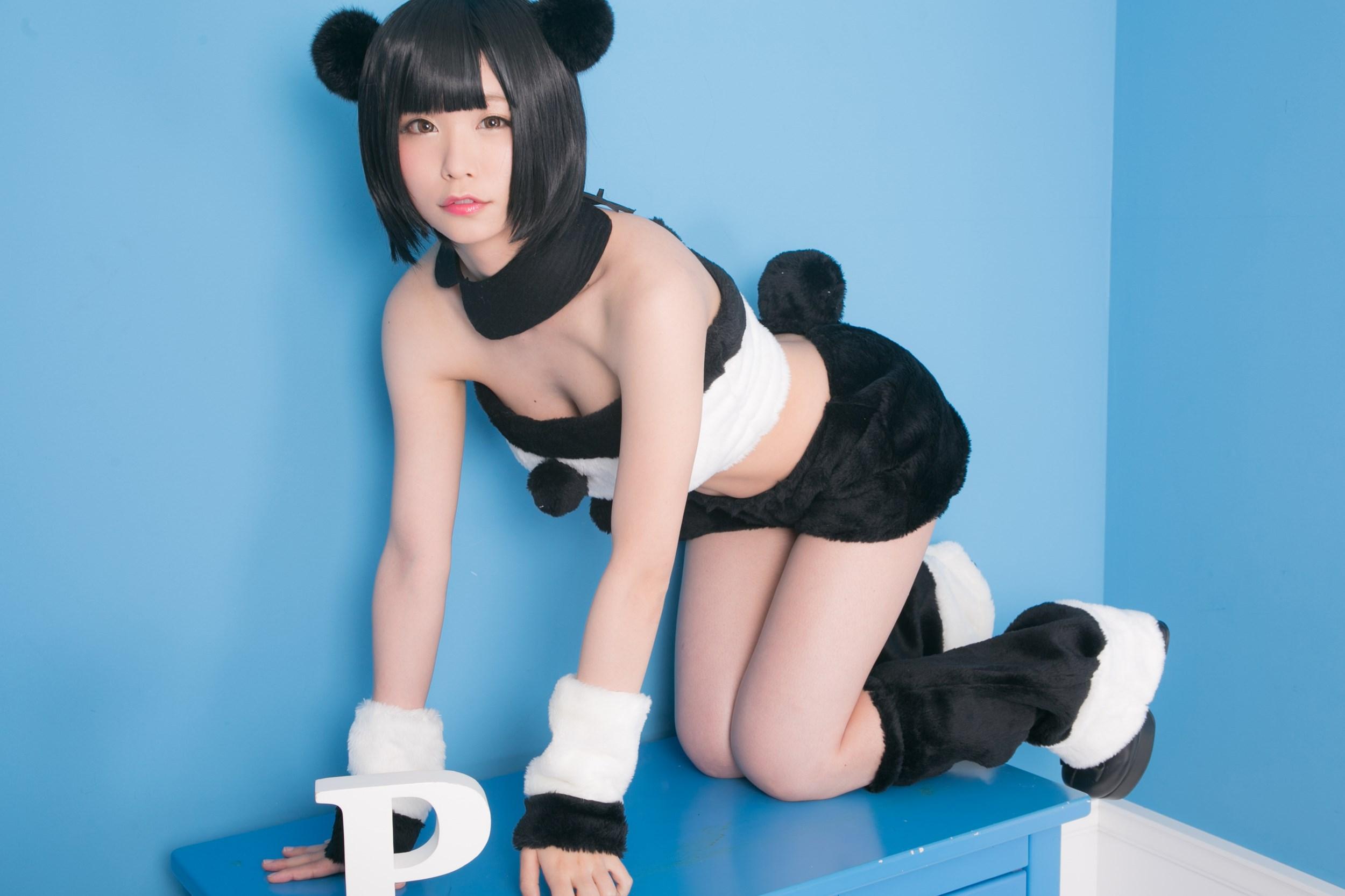 【兔玩映画】熊猫娘 兔玩映画 第14张