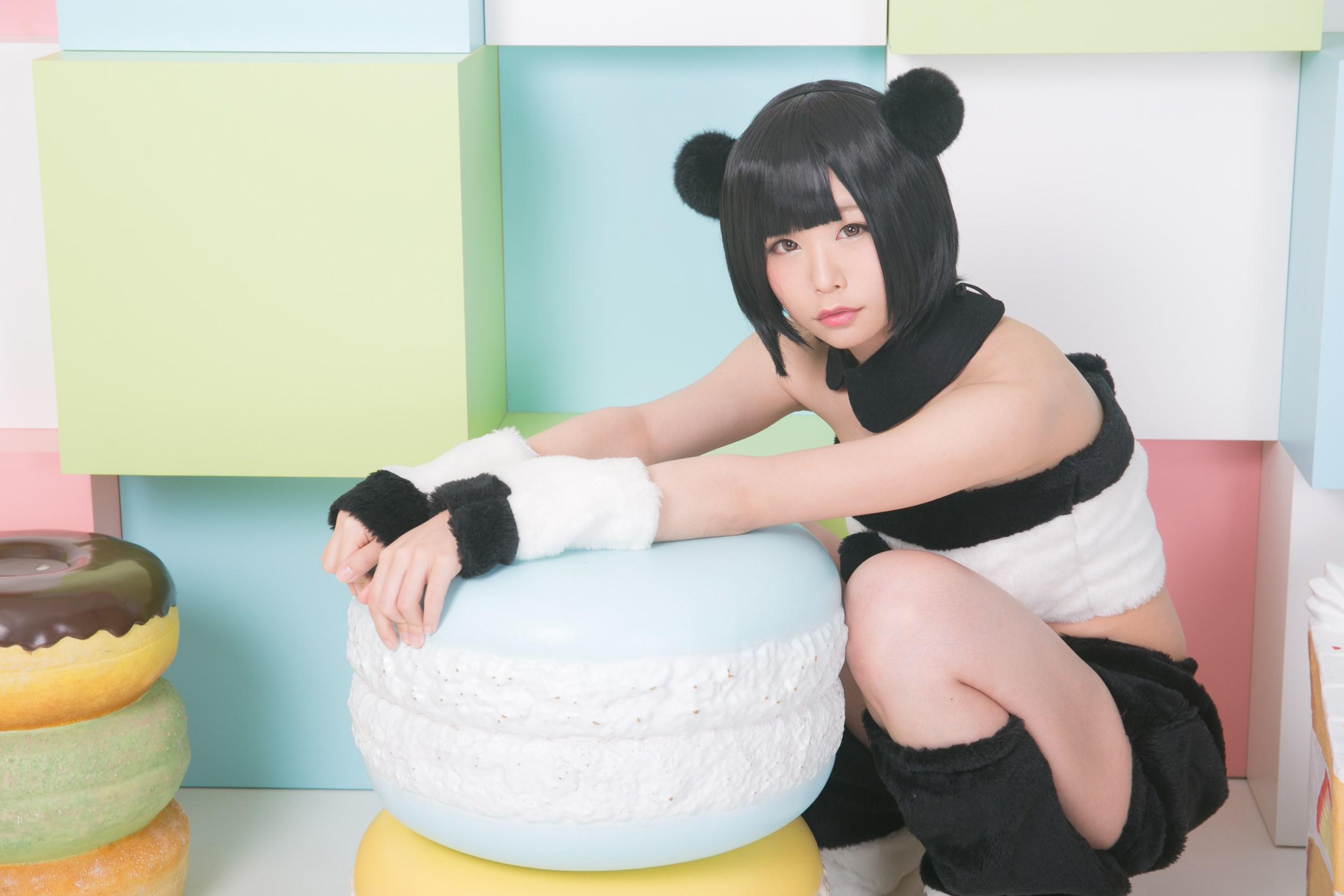 【兔玩映画】熊猫娘 兔玩映画 第36张