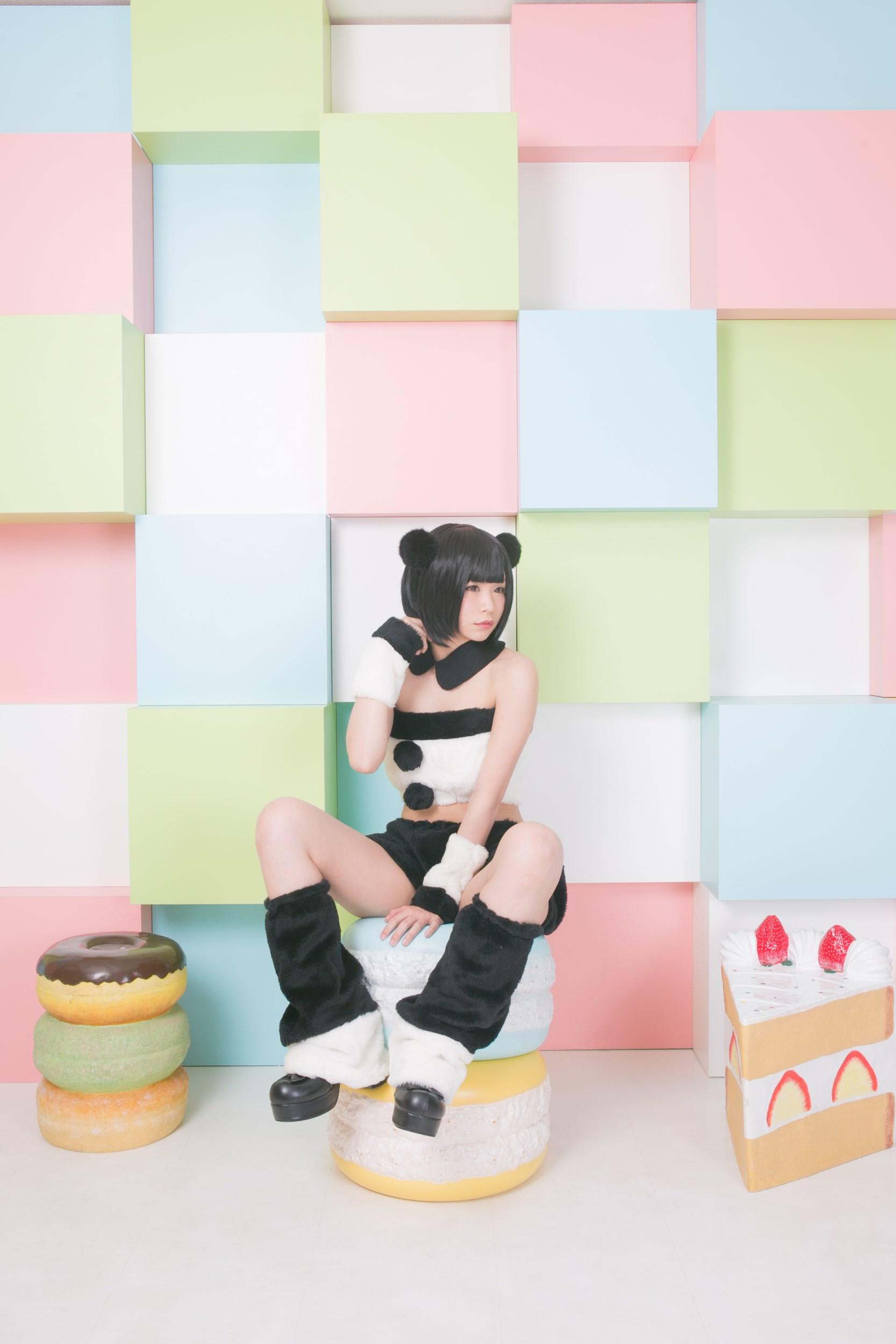 【兔玩映画】熊猫娘 兔玩映画 第35张
