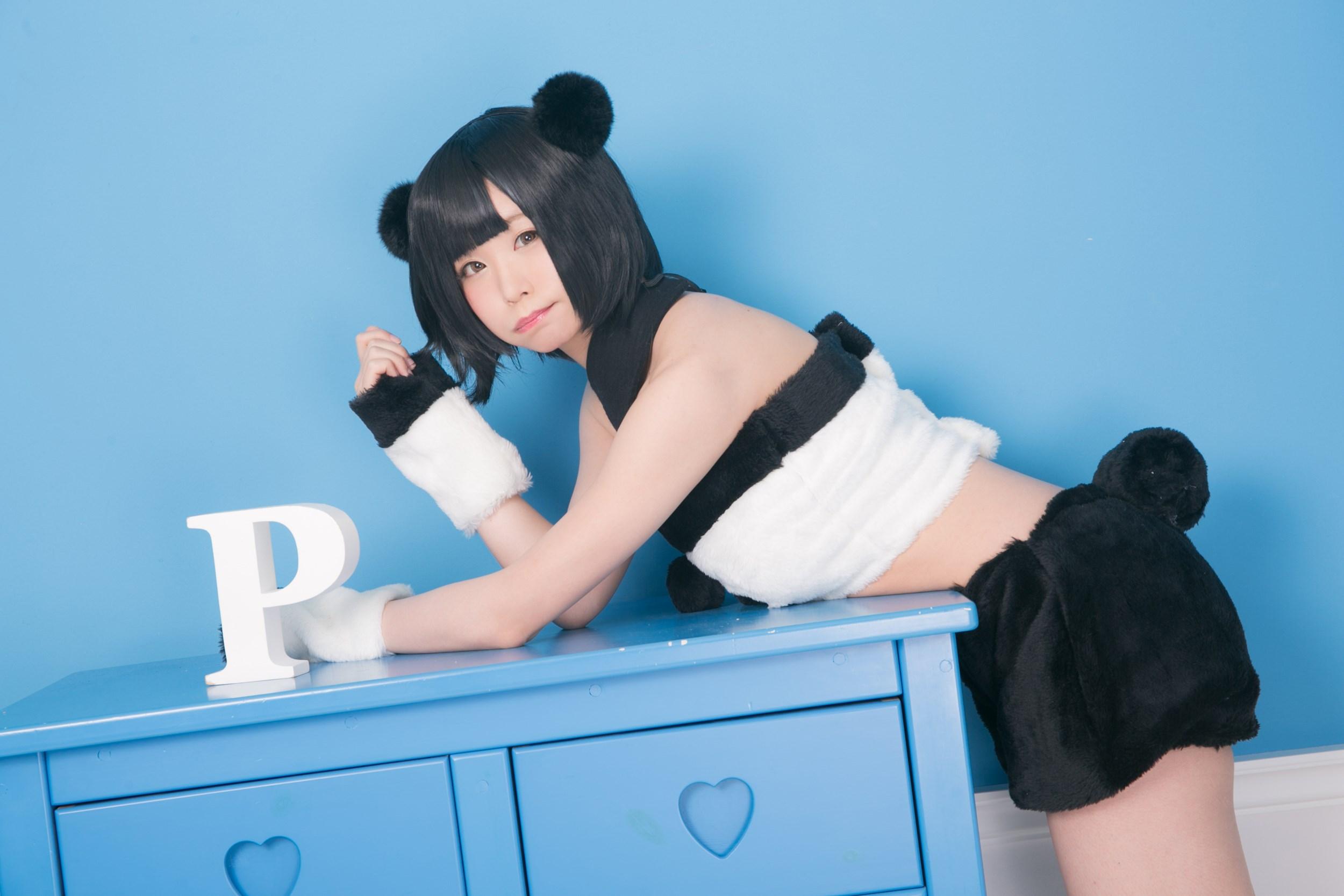 【兔玩映画】熊猫娘 兔玩映画 第8张