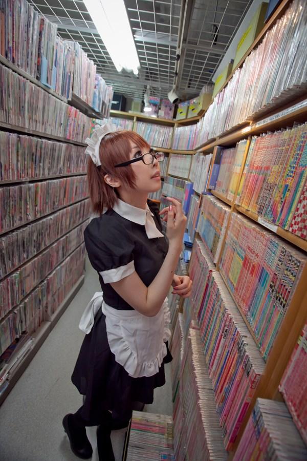 【兔玩映画】书店的女仆! 兔玩映画 第23张
