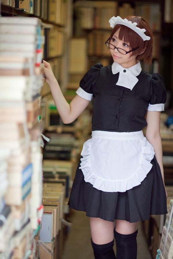 【兔玩映画】书店的女仆! 兔玩映画 第2张