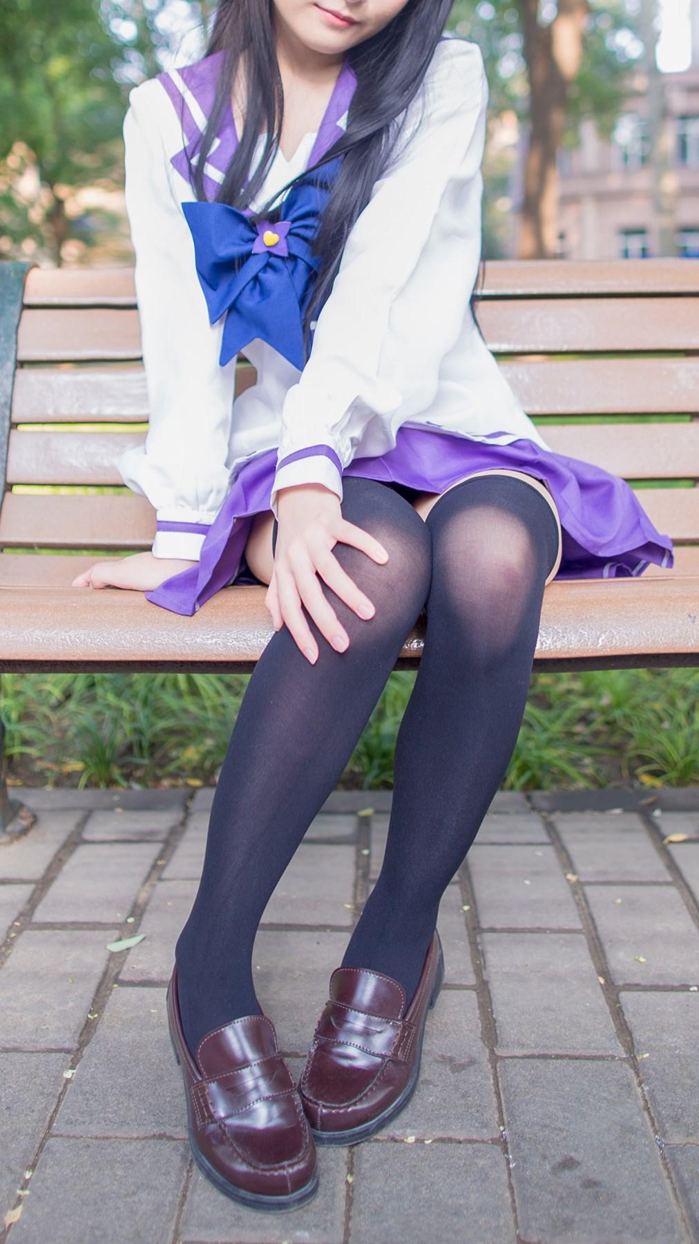 【兔玩映画】紫色水手服 兔玩映画 第51张