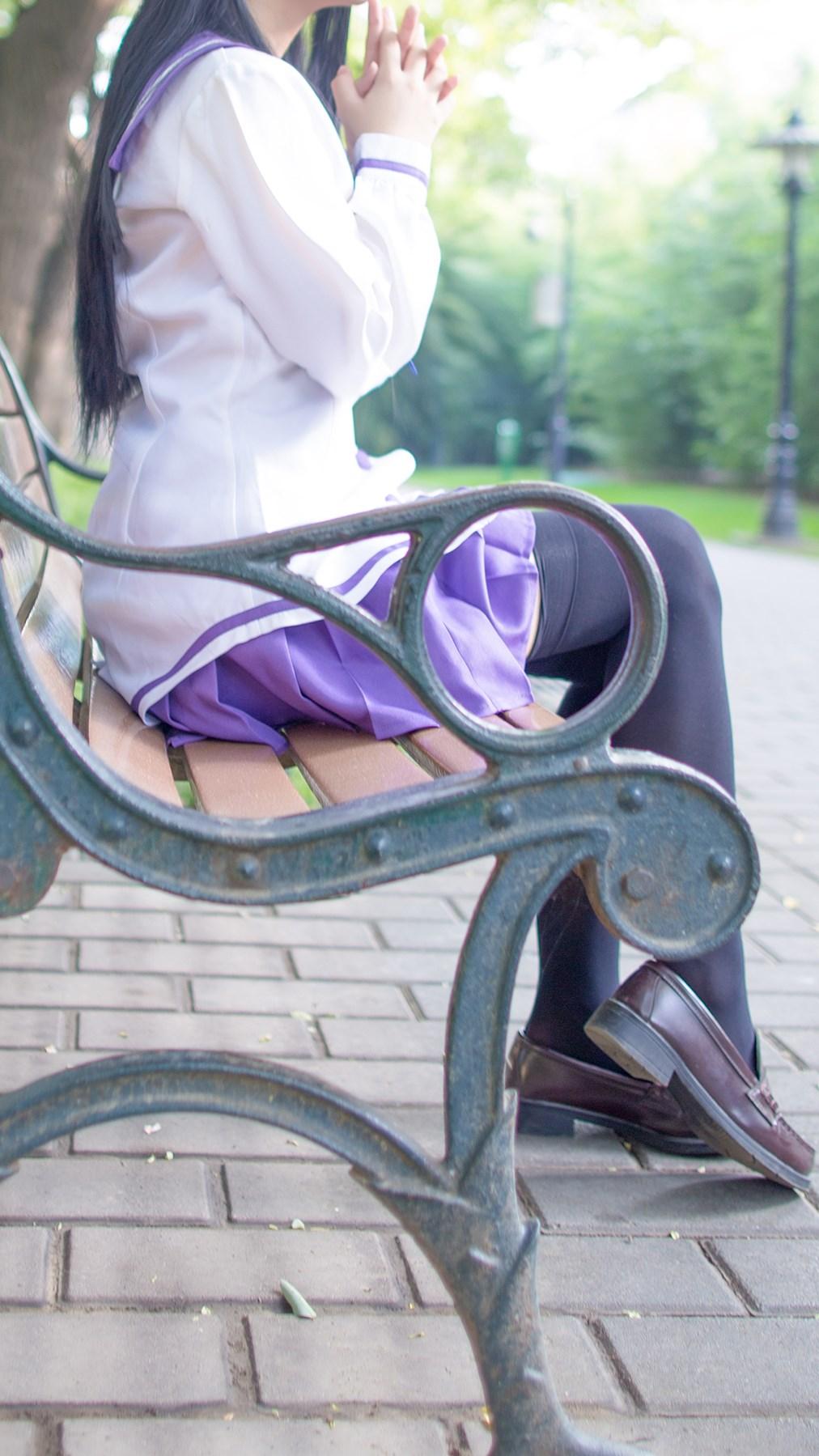 【兔玩映画】紫色水手服 兔玩映画 第50张